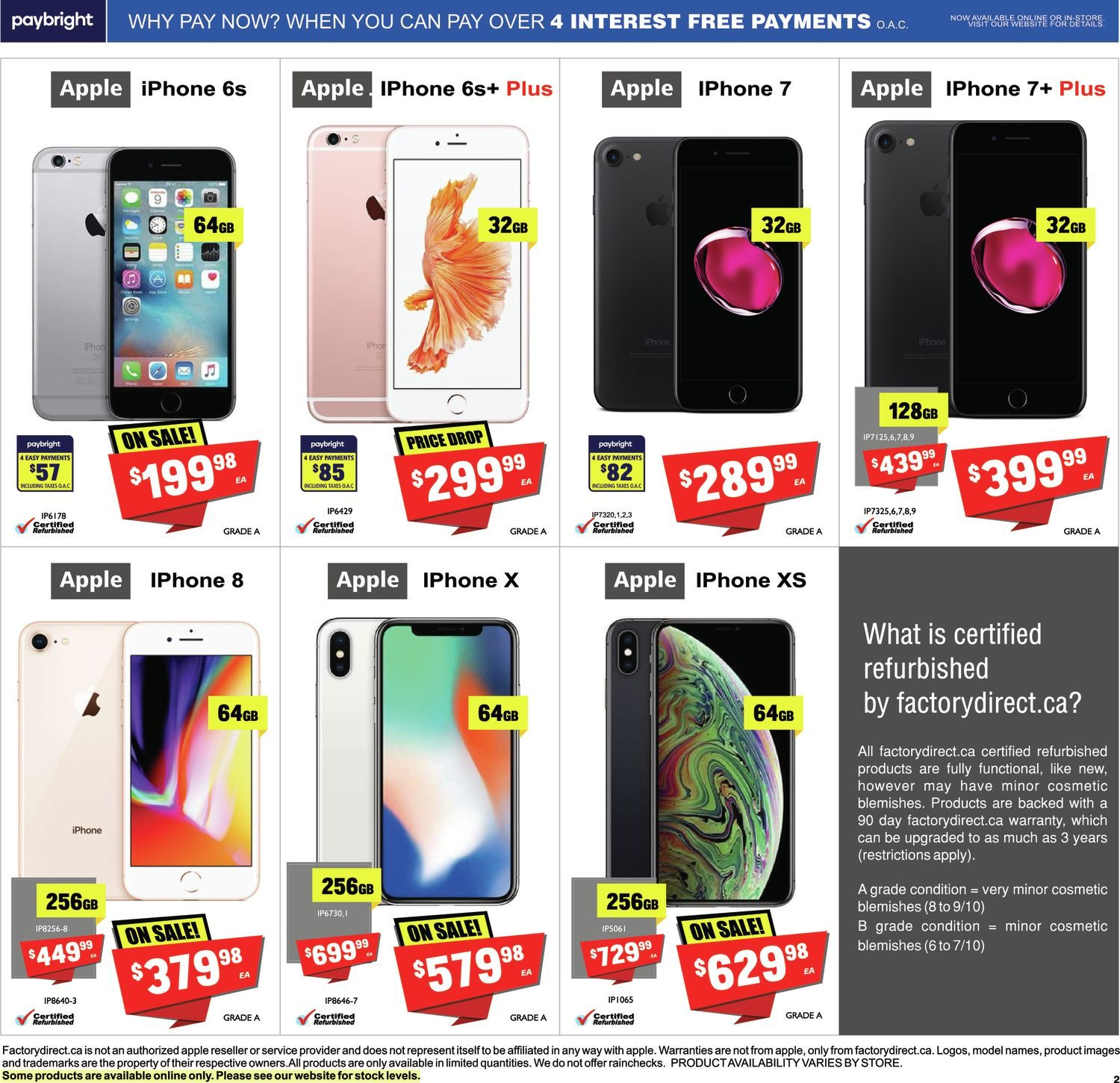 FactoryDirect - Massive Inventory Blowout! - Page 9