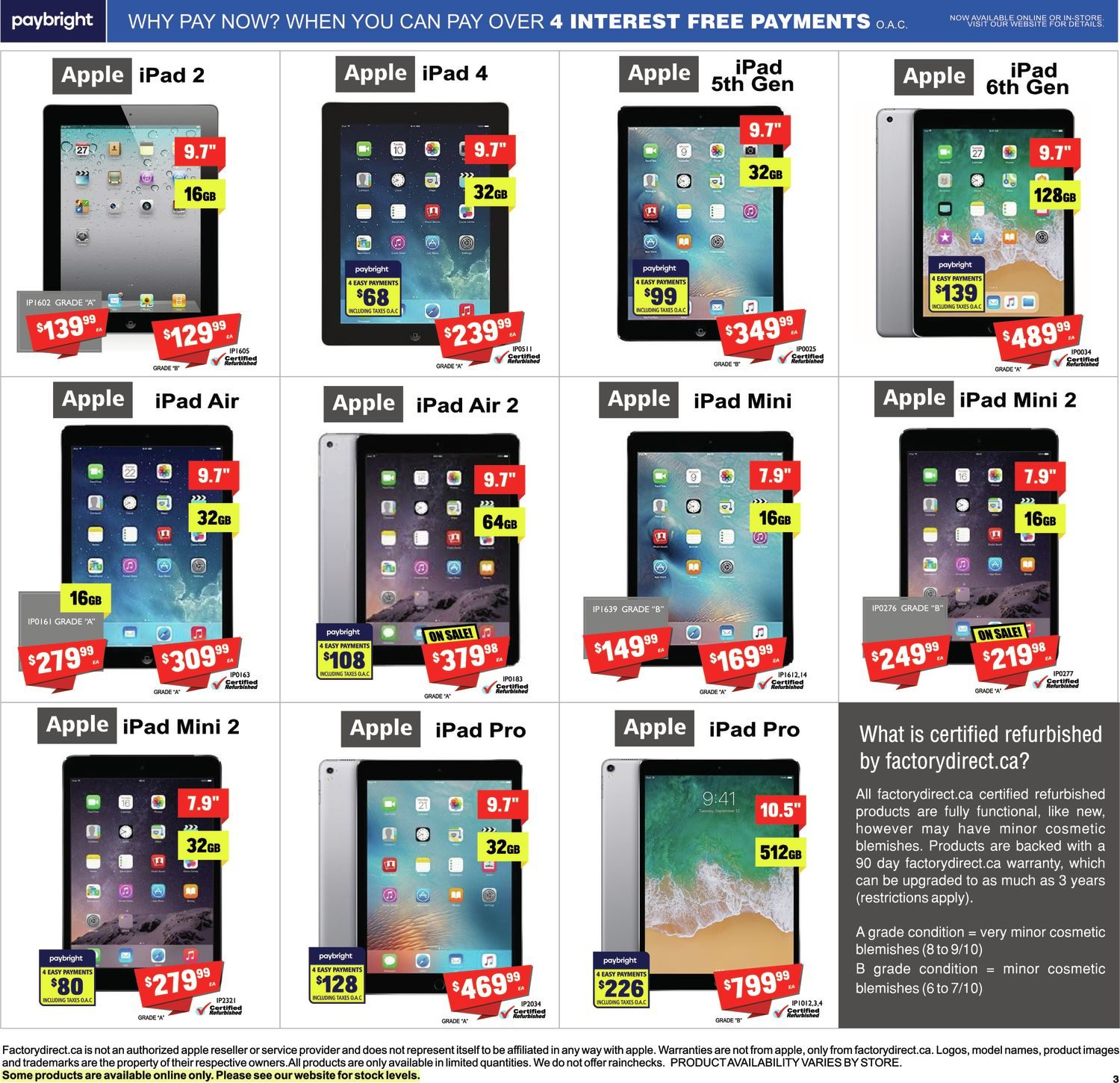 FactoryDirect - Massive Inventory Blowout! - Page 10