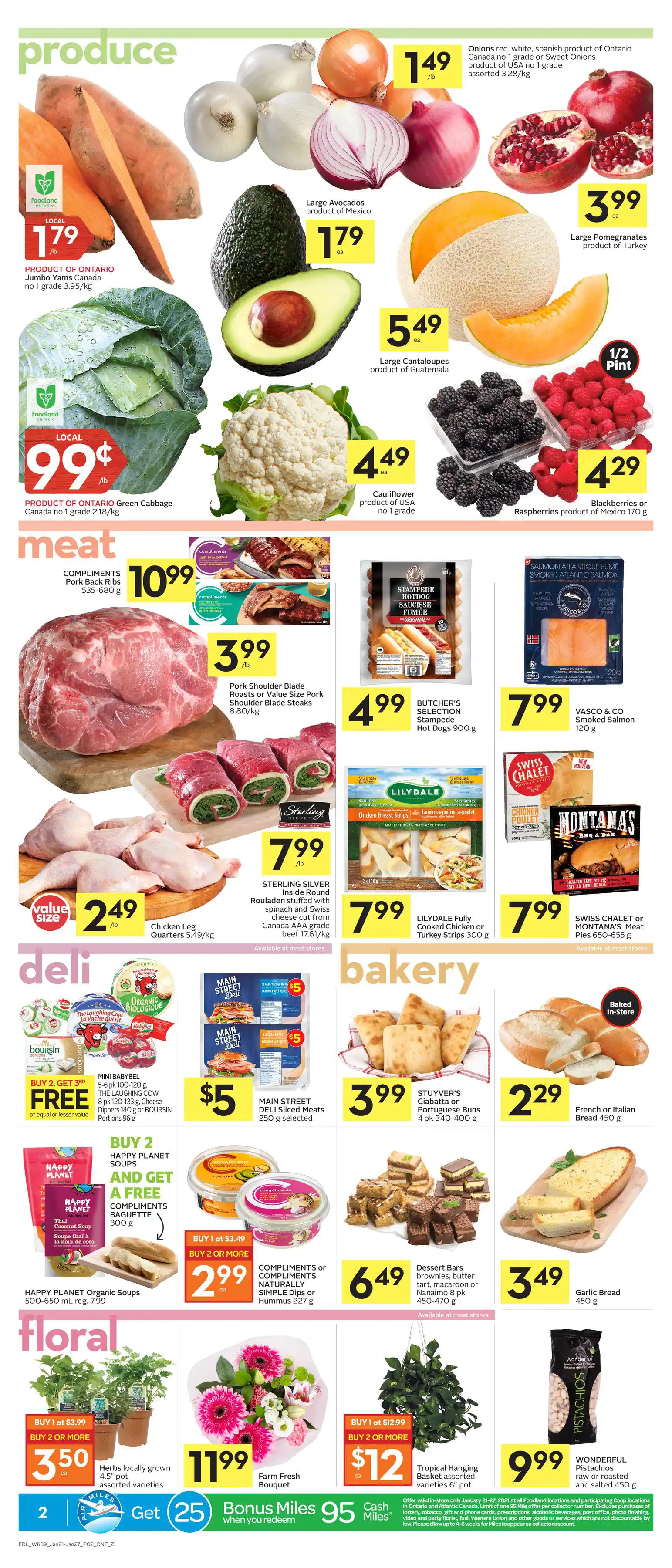 Foodland Flyer from january 21 to 27 2021 - Page 2