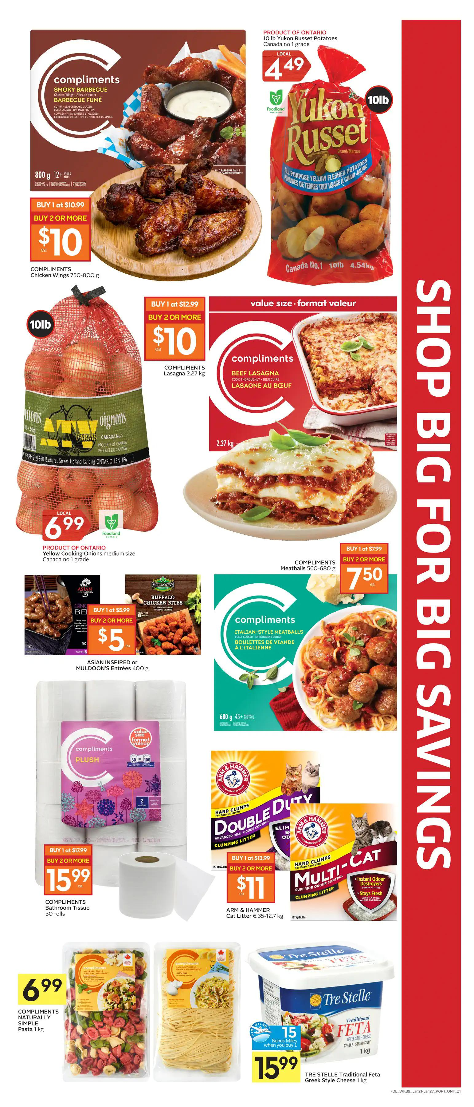 Foodland Flyer from january 21 to 27 2021 - Page 3