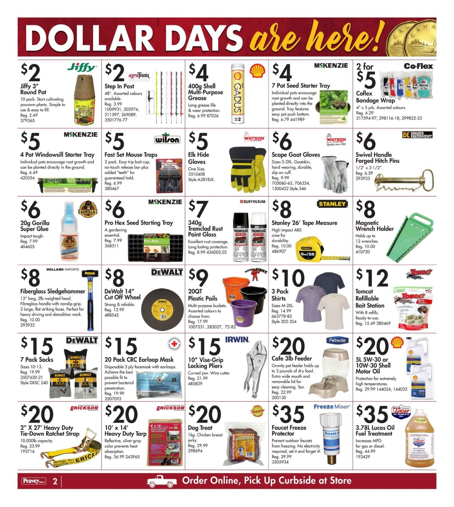 Peavey Mart - Weekly Deals - Dollar Days Are Here - Page 3