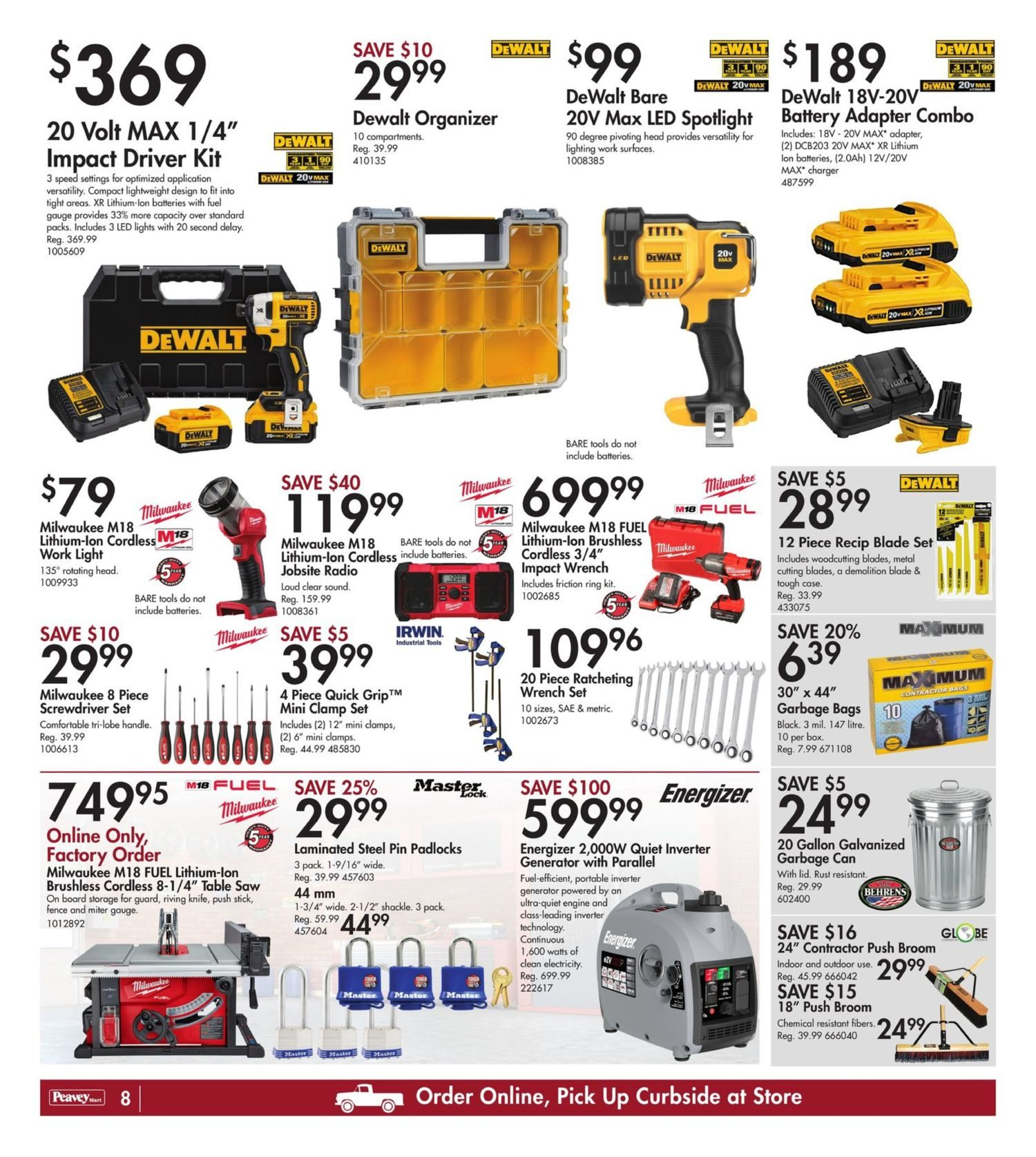 Peavey Mart - Weekly Deals - Dollar Days Are Here - Page 10