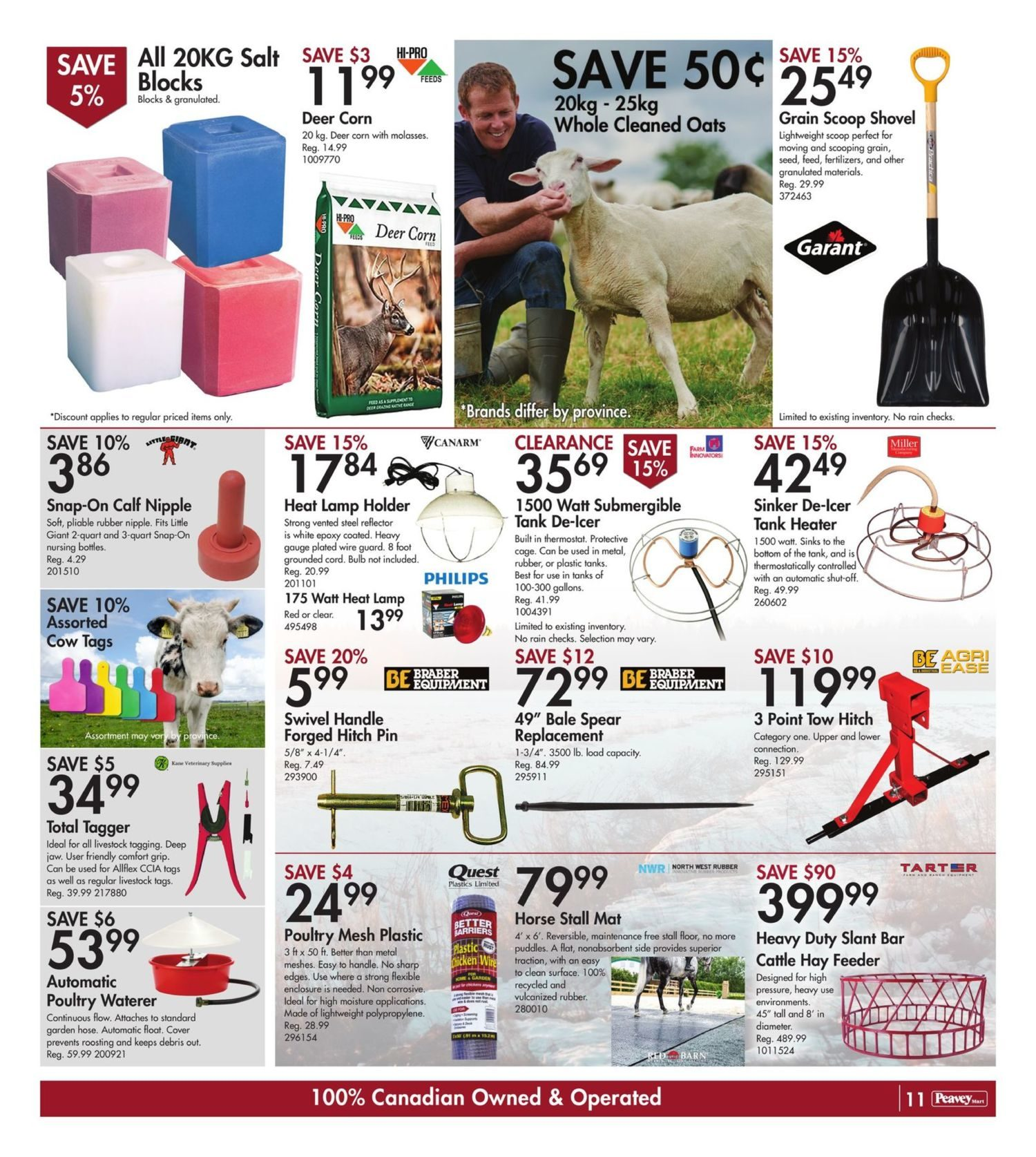 Peavey Mart - Weekly Deals - Dollar Days Are Here - Page 13