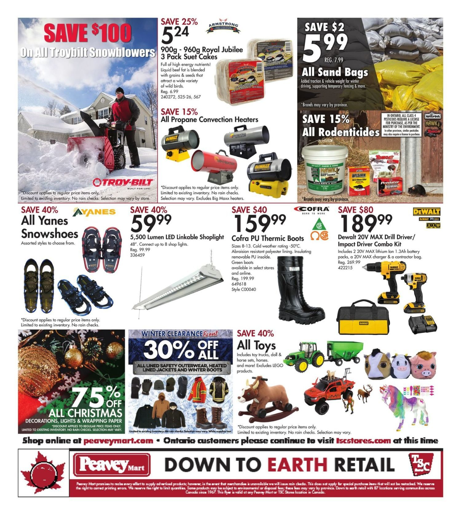 Peavey Mart - Weekly Deals - Dollar Days Are Here - Page 14