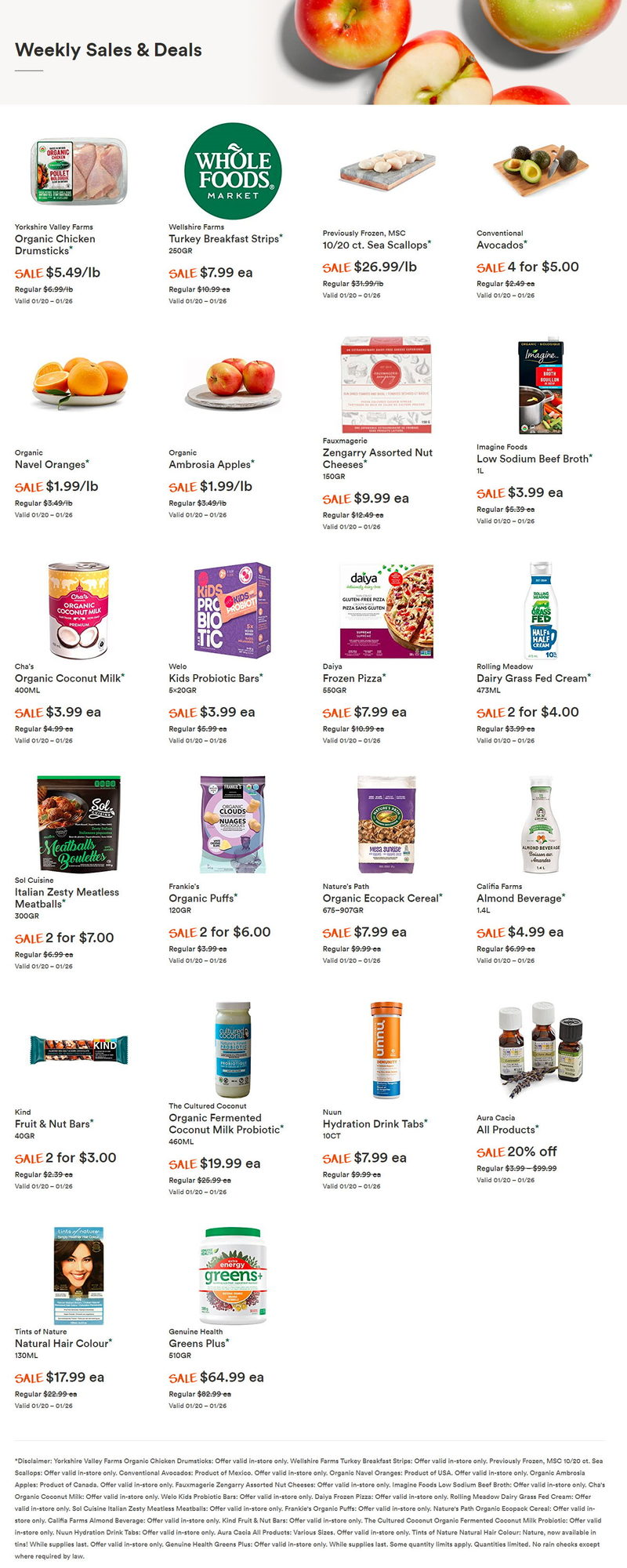 Whole Foods Market - Weekly Specials