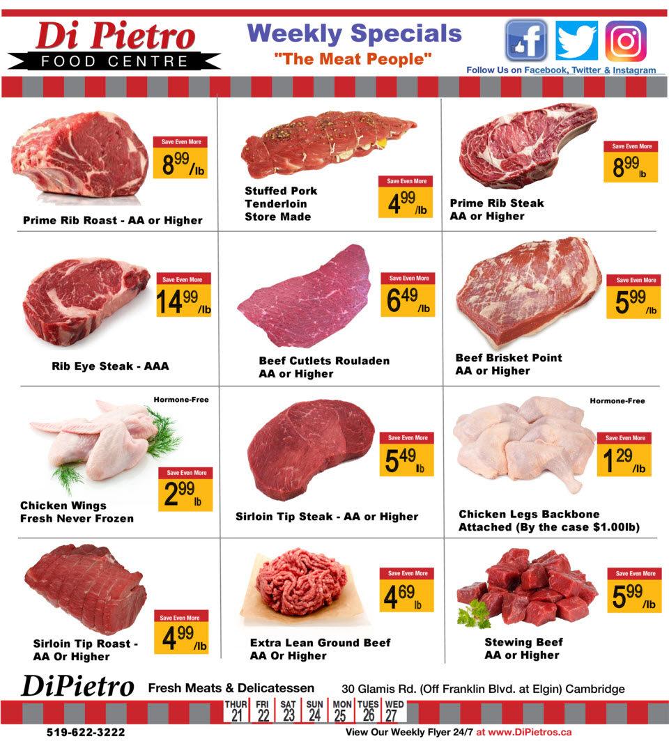 DiPietro - Weekly Specials