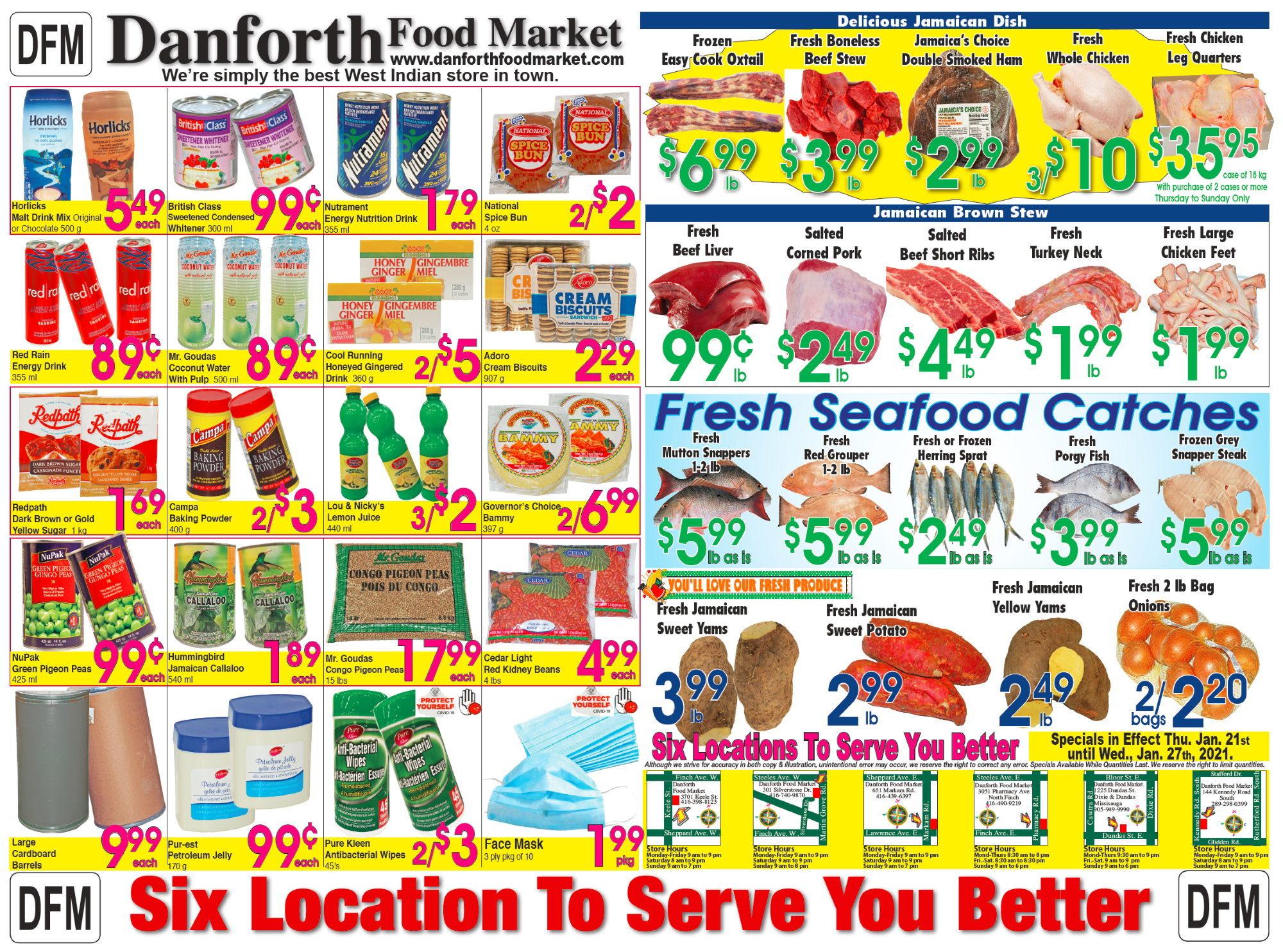 Danforth Food Market - Weekly Specials
