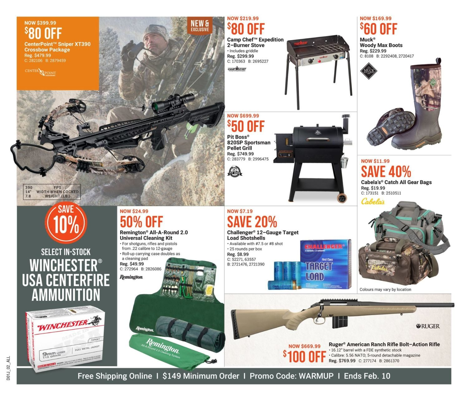 Cabela's - Winter Warm-Up Sale - Page 2