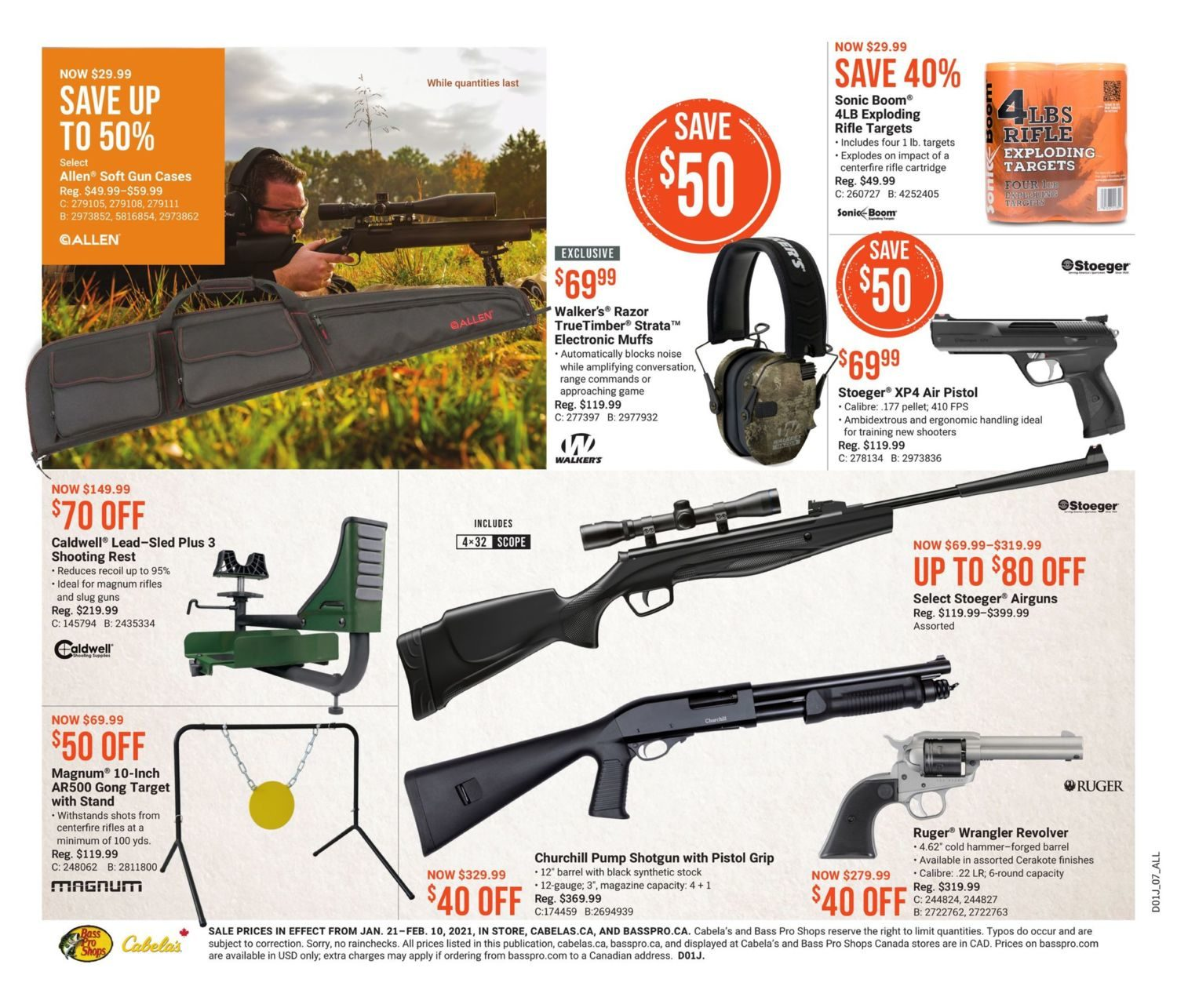 Cabela's - Winter Warm-Up Sale - Page 8