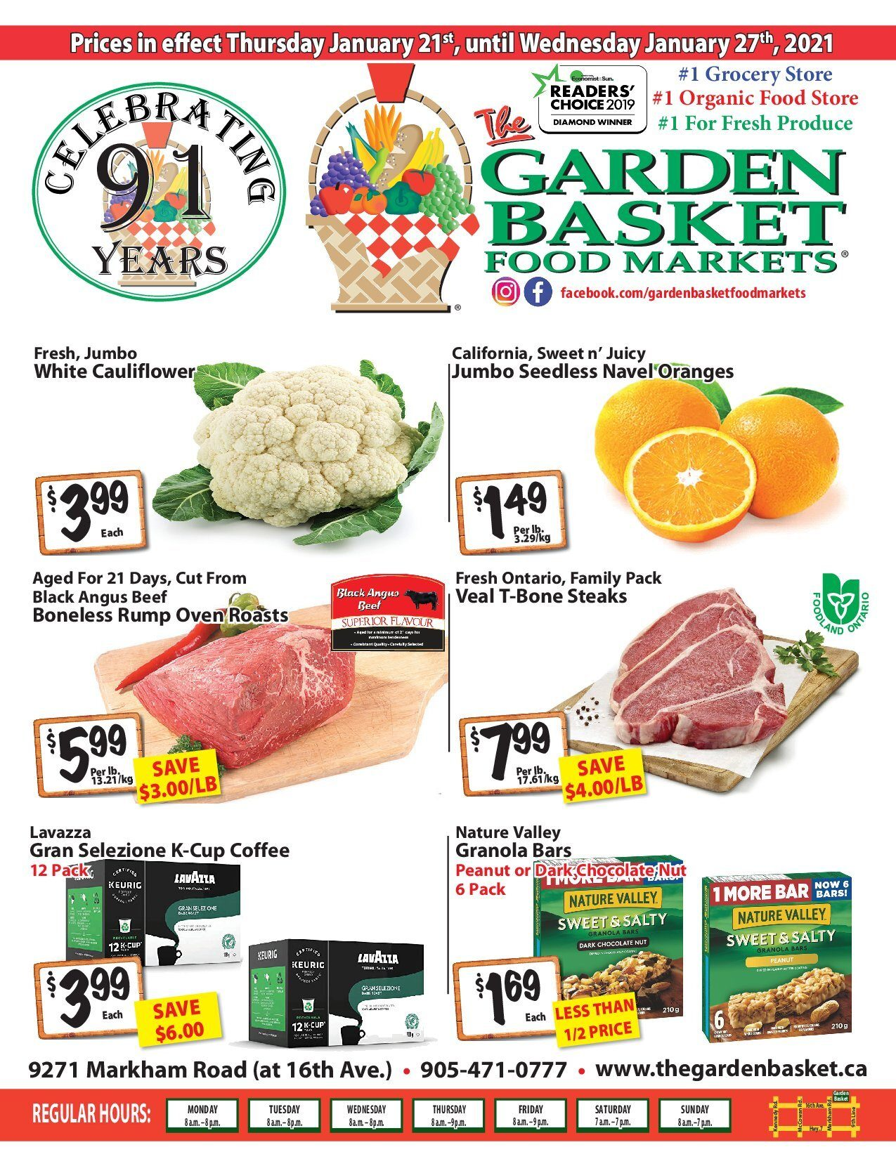 The Garden Basket - Weekly Specials