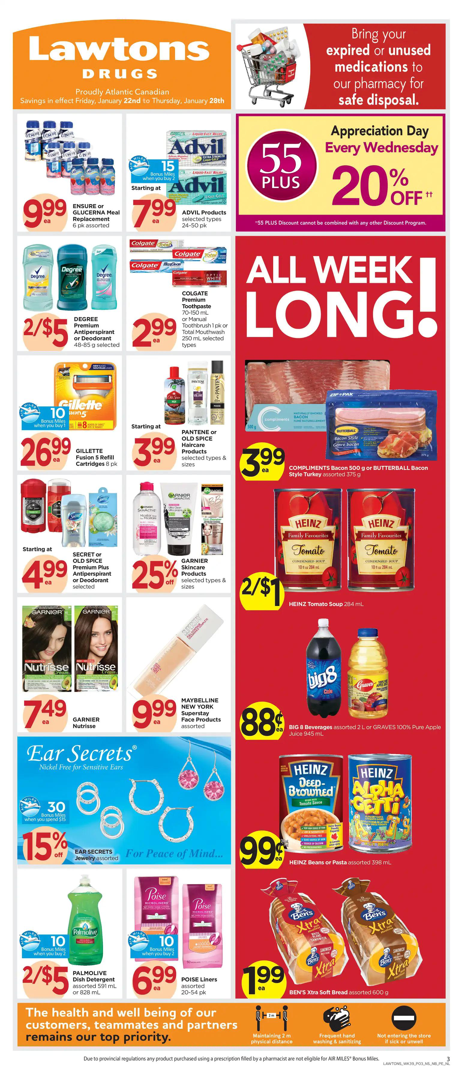 Lawtons Drugs - Weekly Flyer Specials