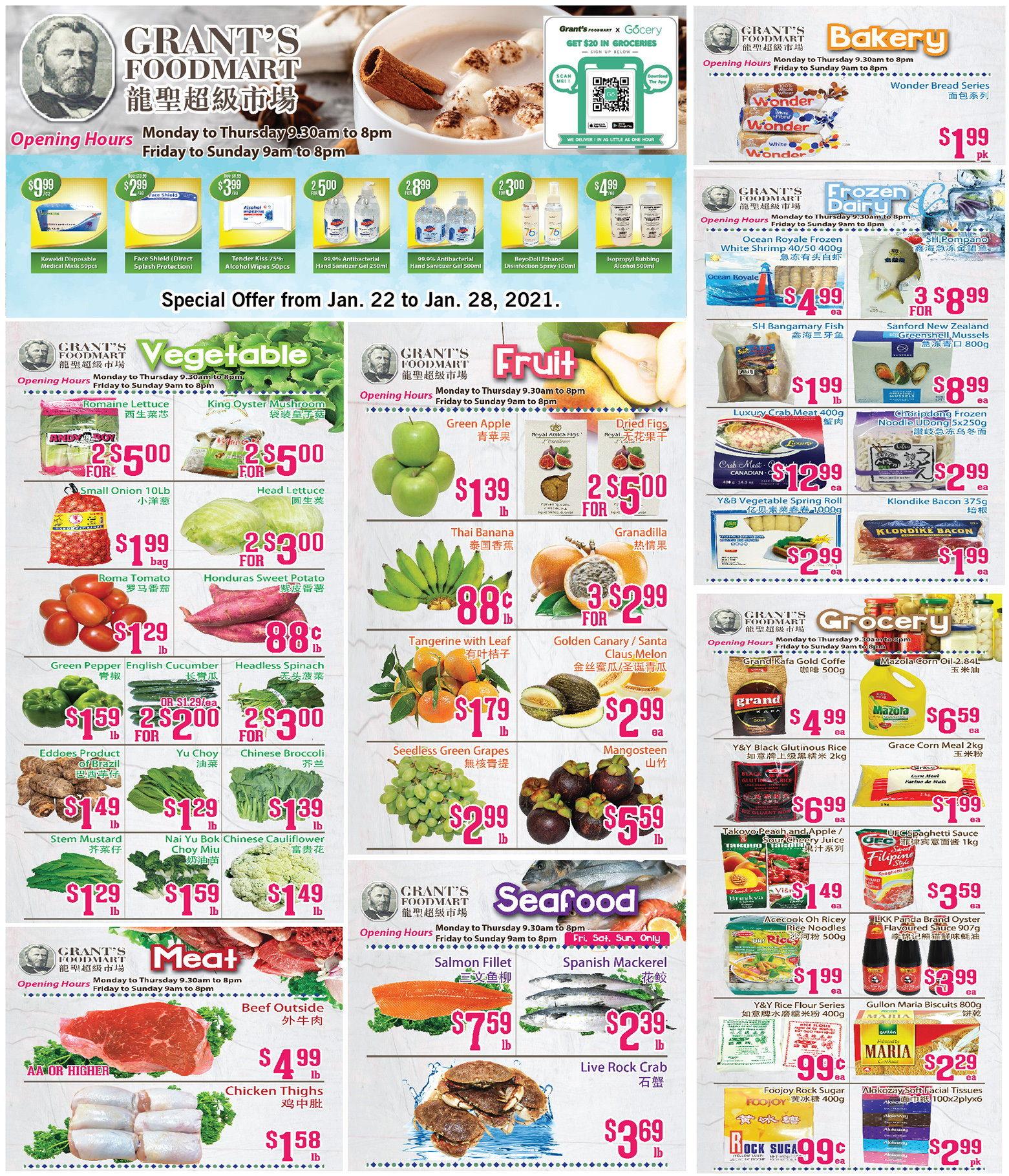 Oceans Fresh Food Market - Weekly Flyer Specials