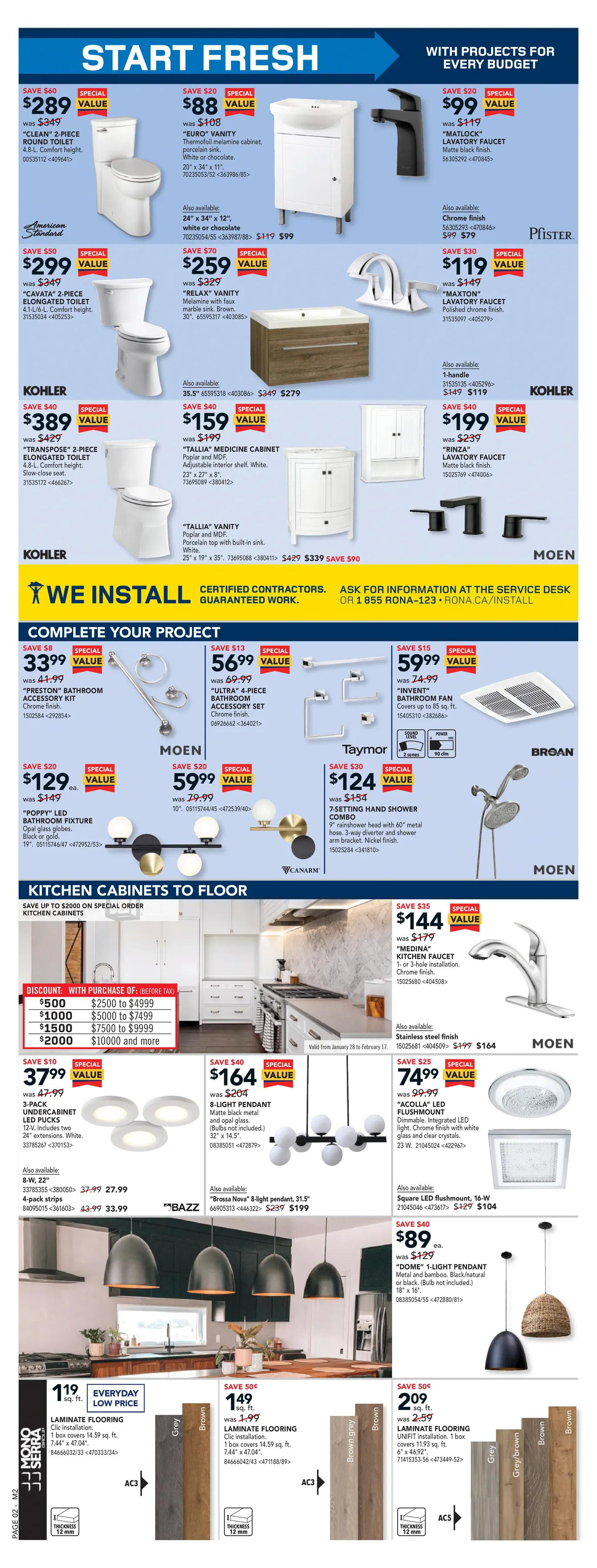 Rona - Weekly Flyer Specials - Page 2