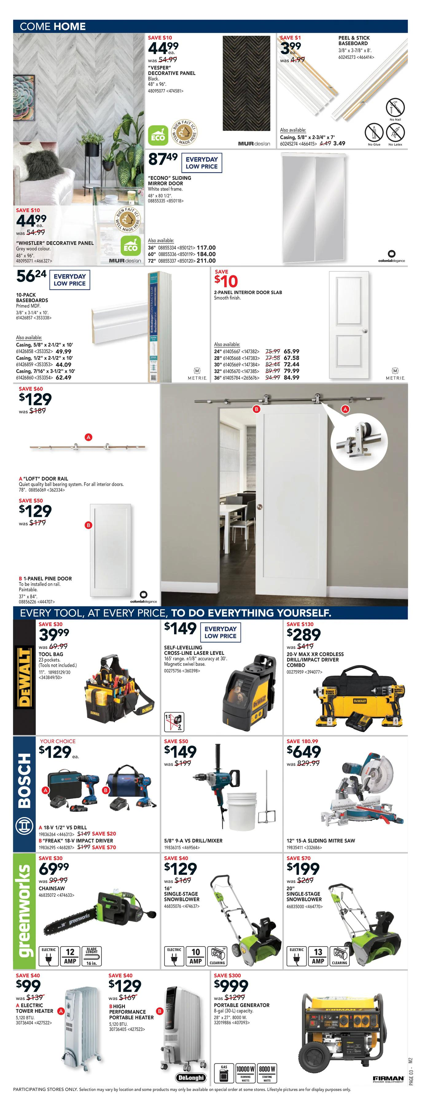Rona - Weekly Flyer Specials - Page 3