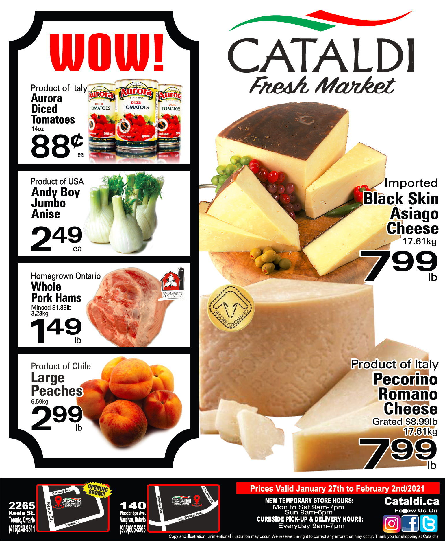 Cataldi - Weekly Flyer Specials