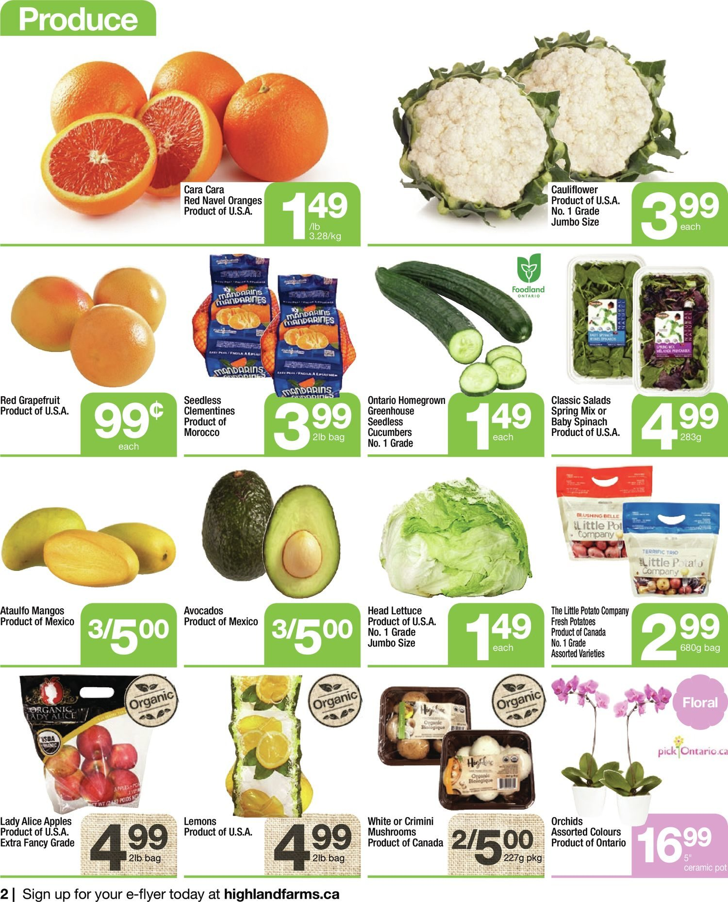Highland Farms - Weekly Flyer Specials - Start Fresh - Page 2