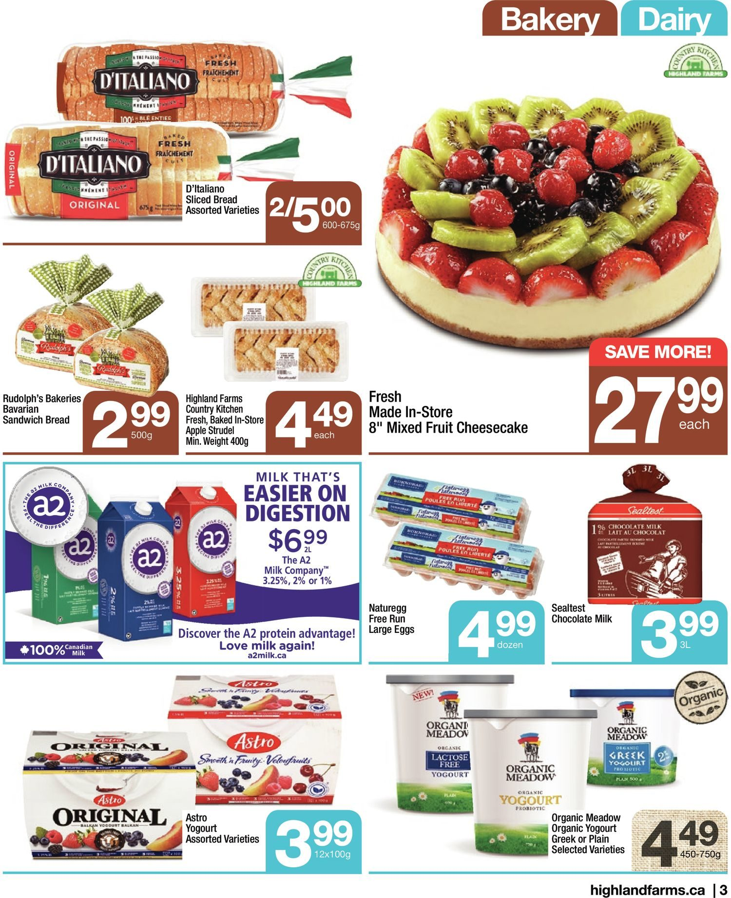 Highland Farms - Weekly Flyer Specials - Start Fresh - Page 3