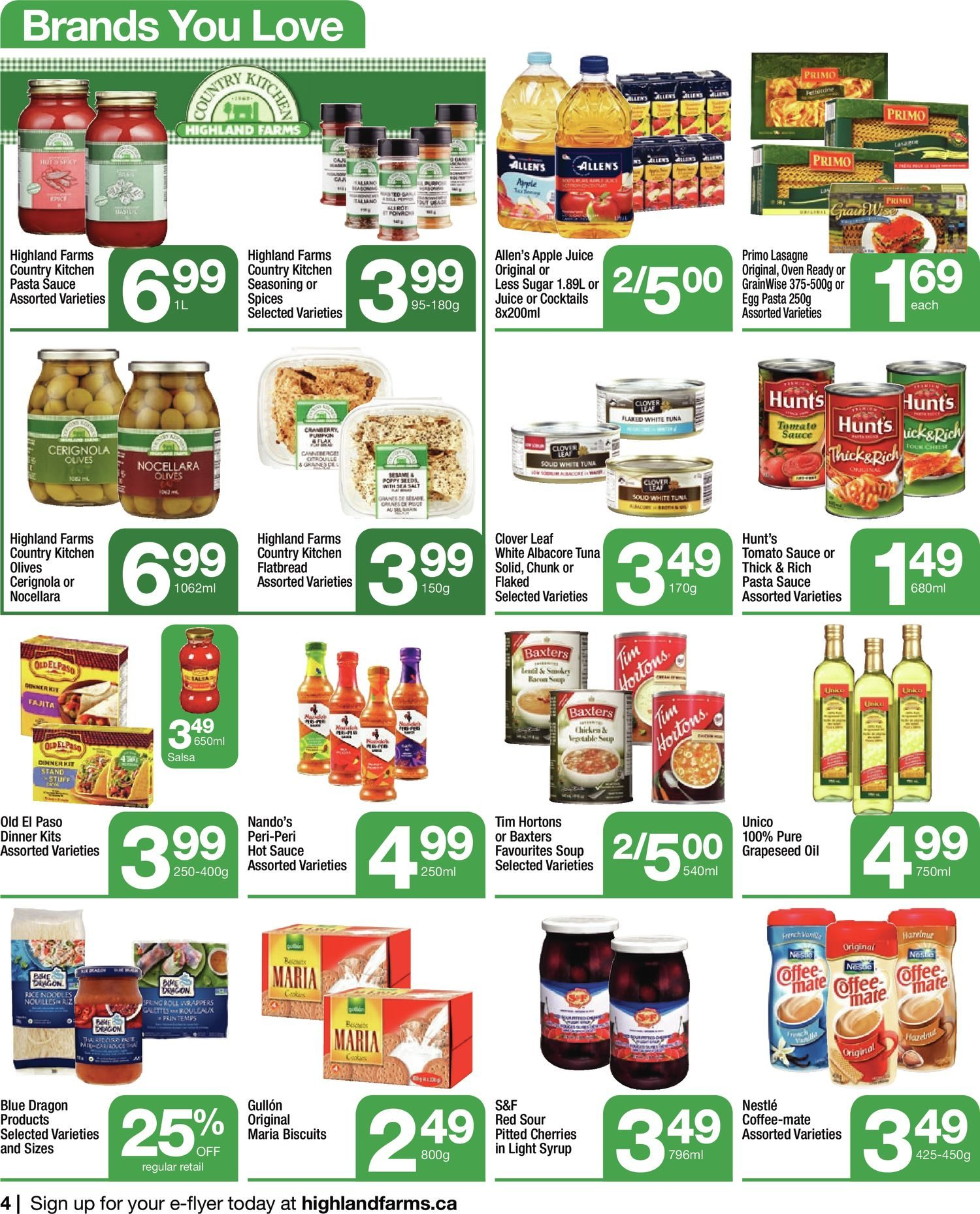 Highland Farms - Weekly Flyer Specials - Start Fresh - Page 4