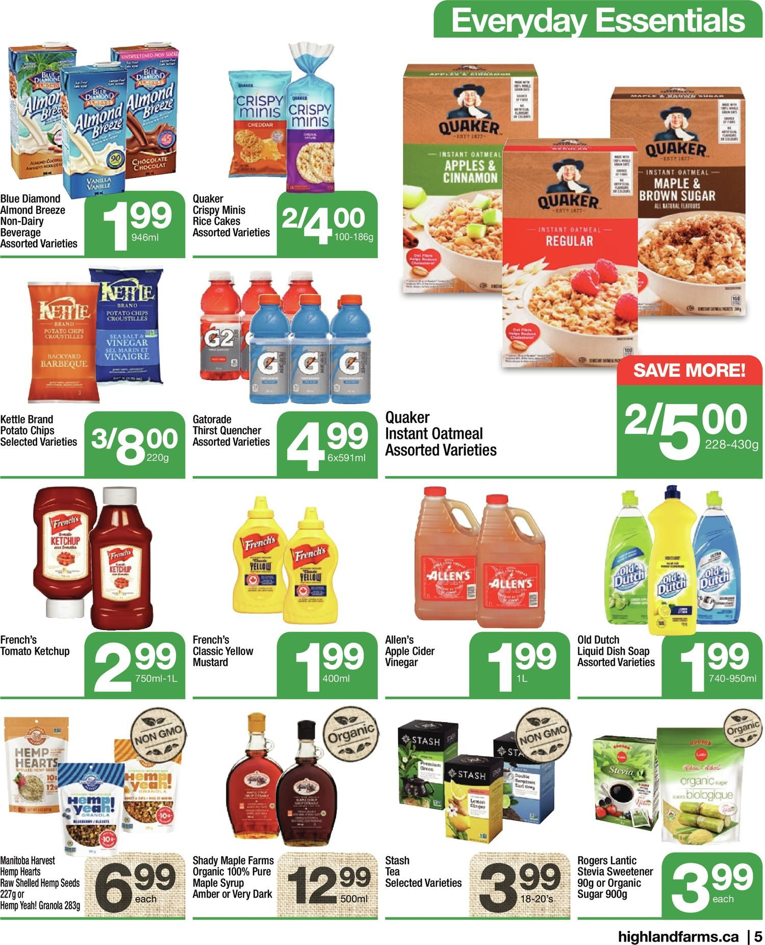 Highland Farms - Weekly Flyer Specials - Start Fresh - Page 5