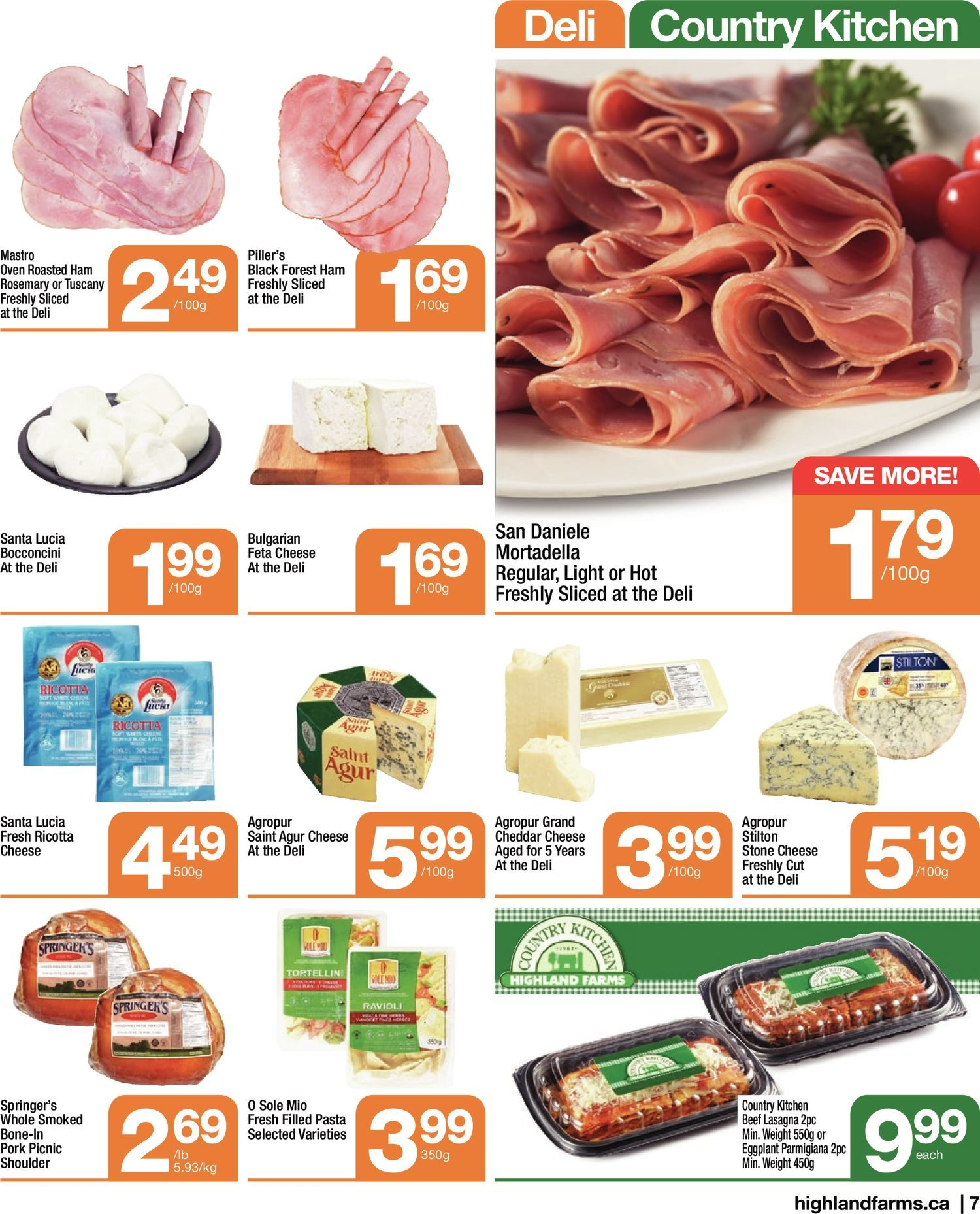 Highland Farms - Weekly Flyer Specials - Start Fresh - Page 7