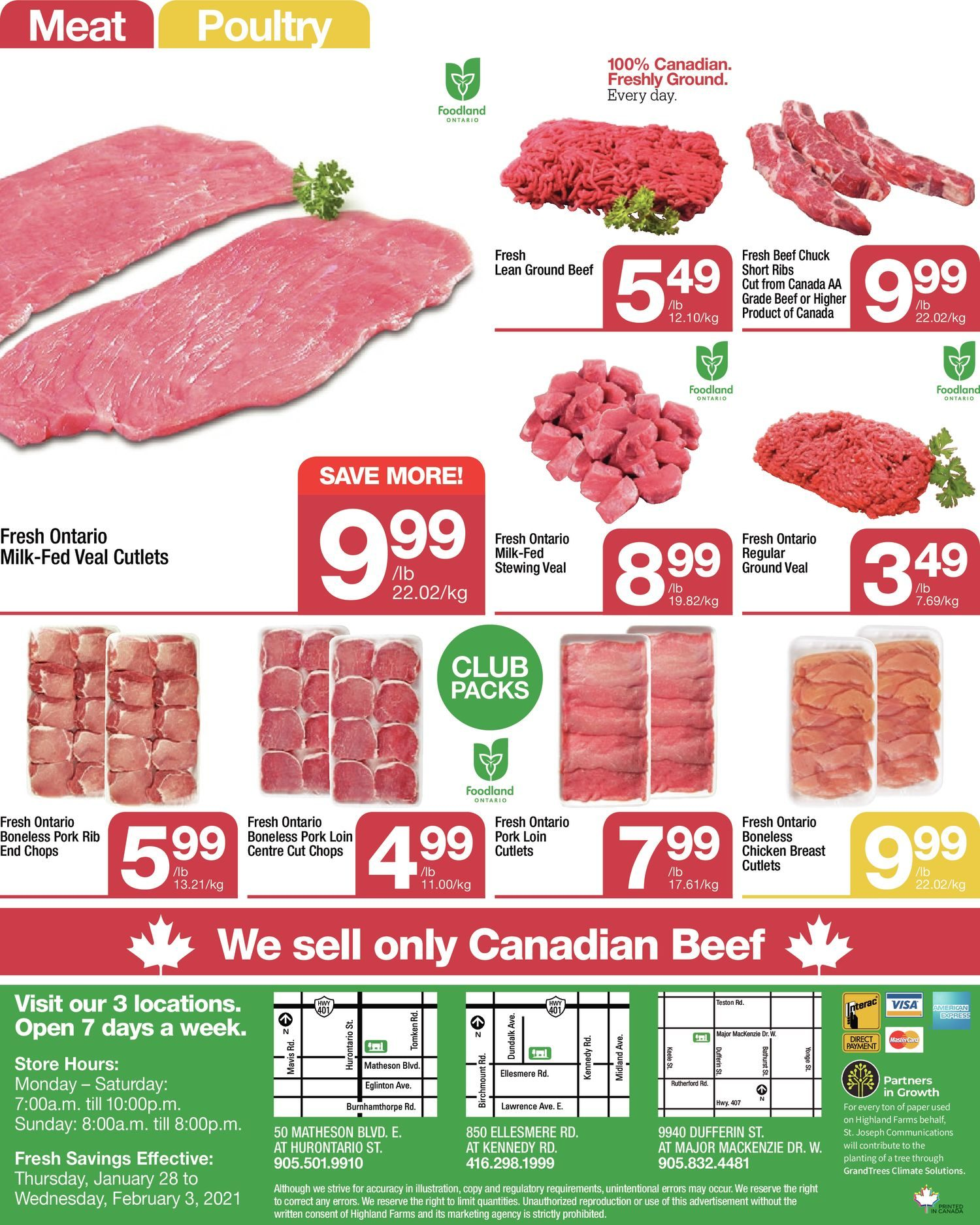 Highland Farms - Weekly Flyer Specials - Start Fresh - Page 8