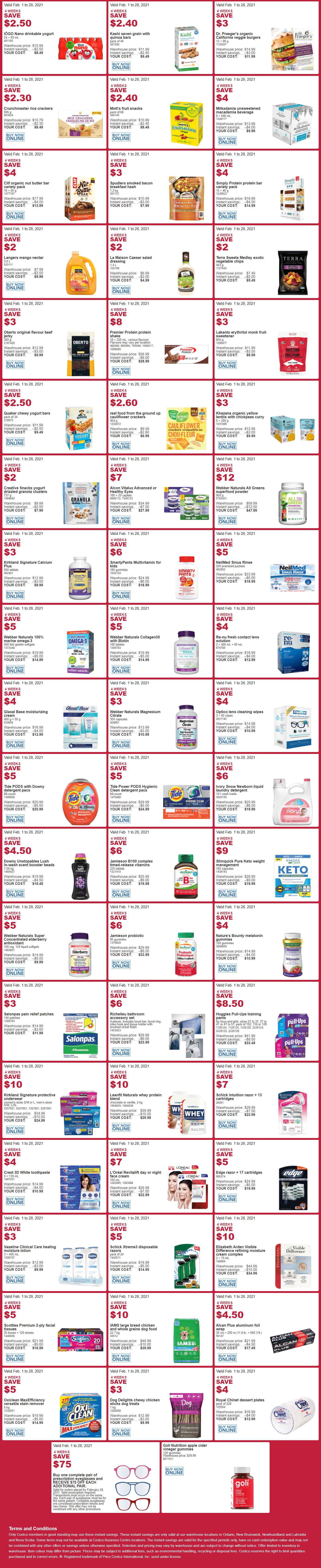 Costco - Monthly Savings - Page 3