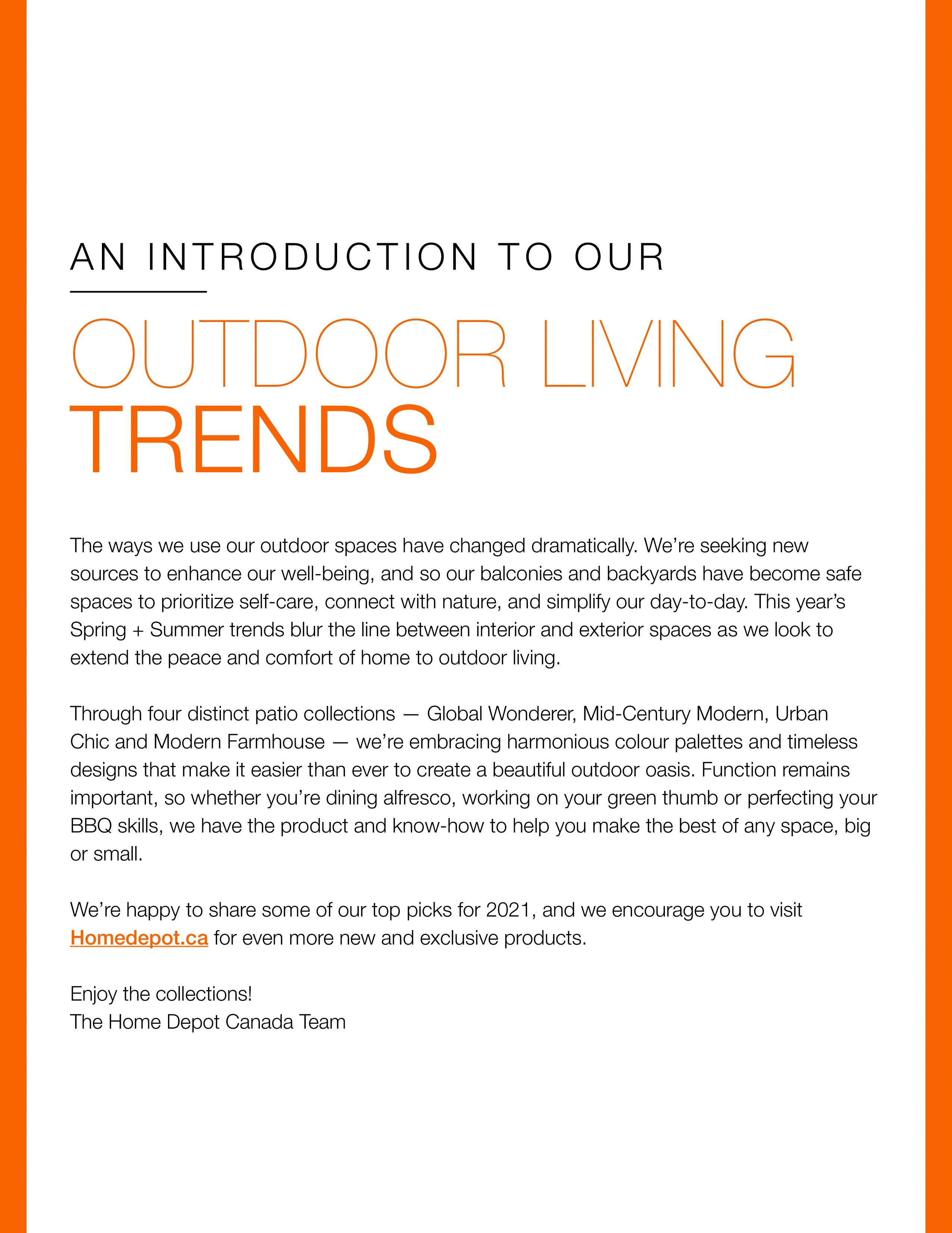Home Depot - Outdoor Living - Page 2