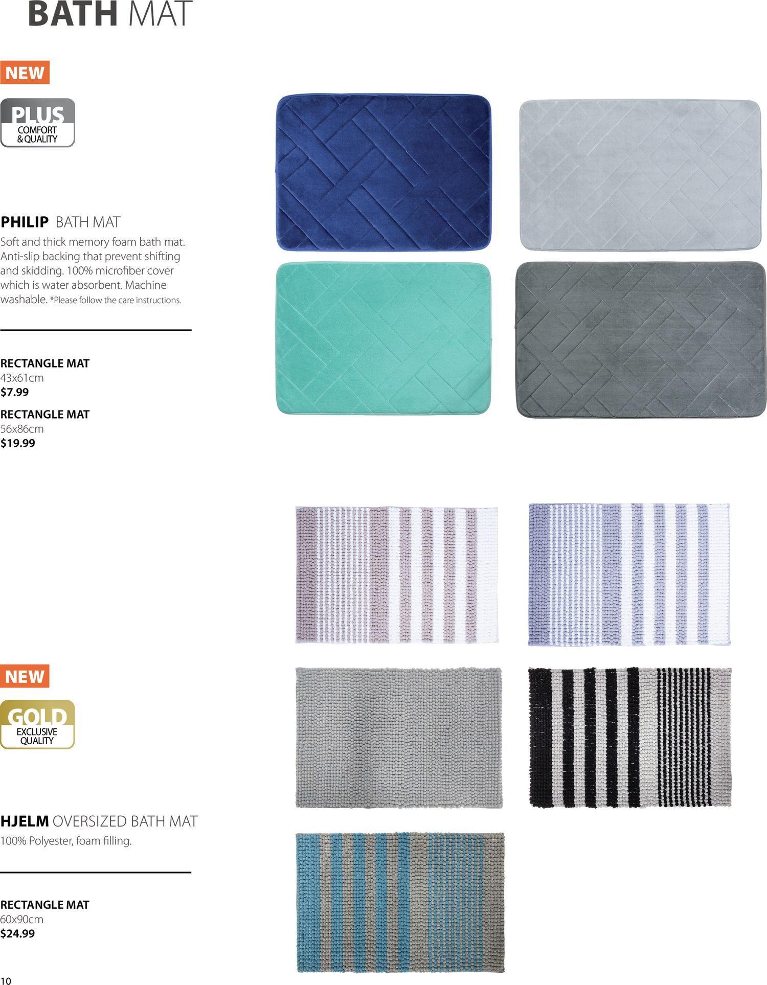 Jysk - Bathroom Accessories Catalogue 2021 - Page 10