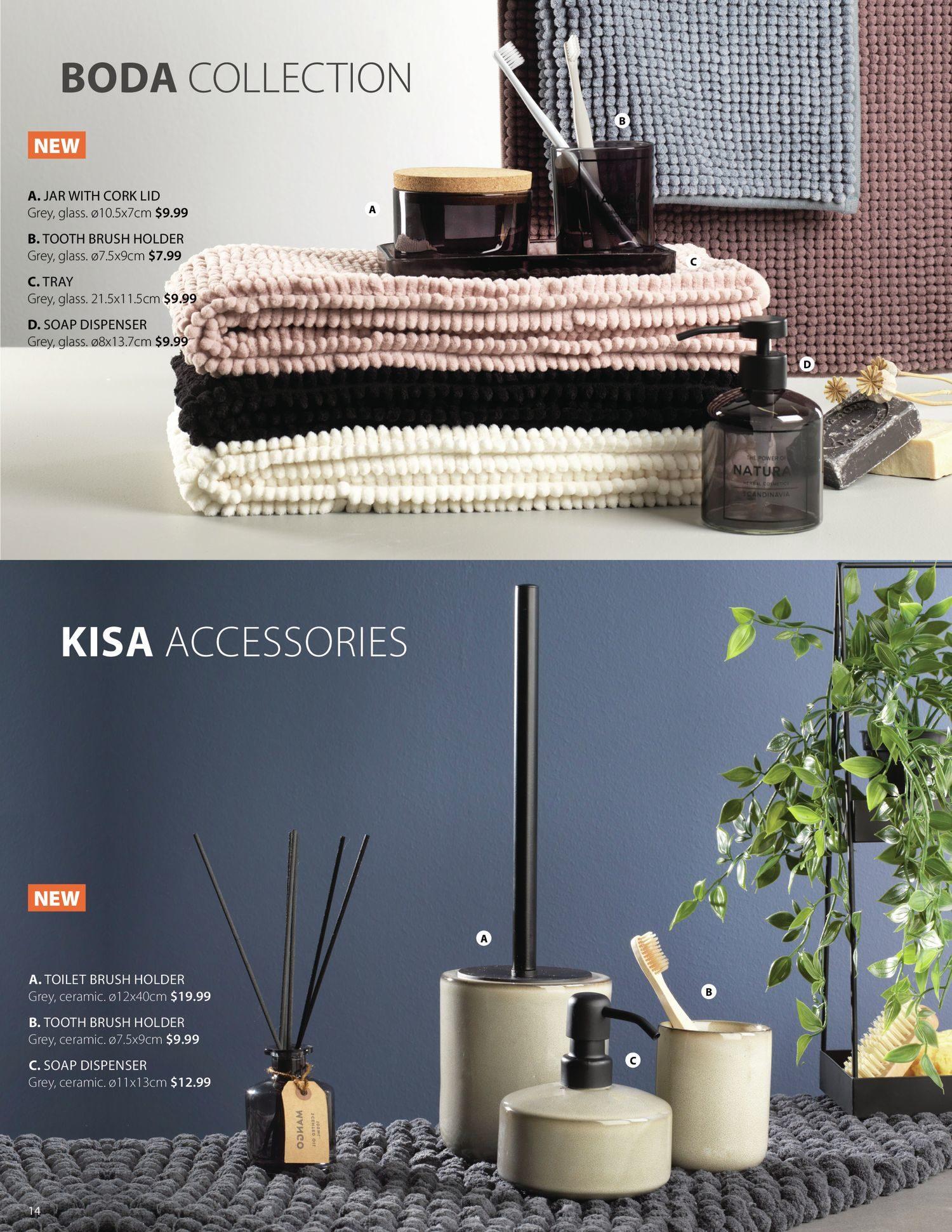 Jysk - Bathroom Accessories Catalogue 2021 - Page 14