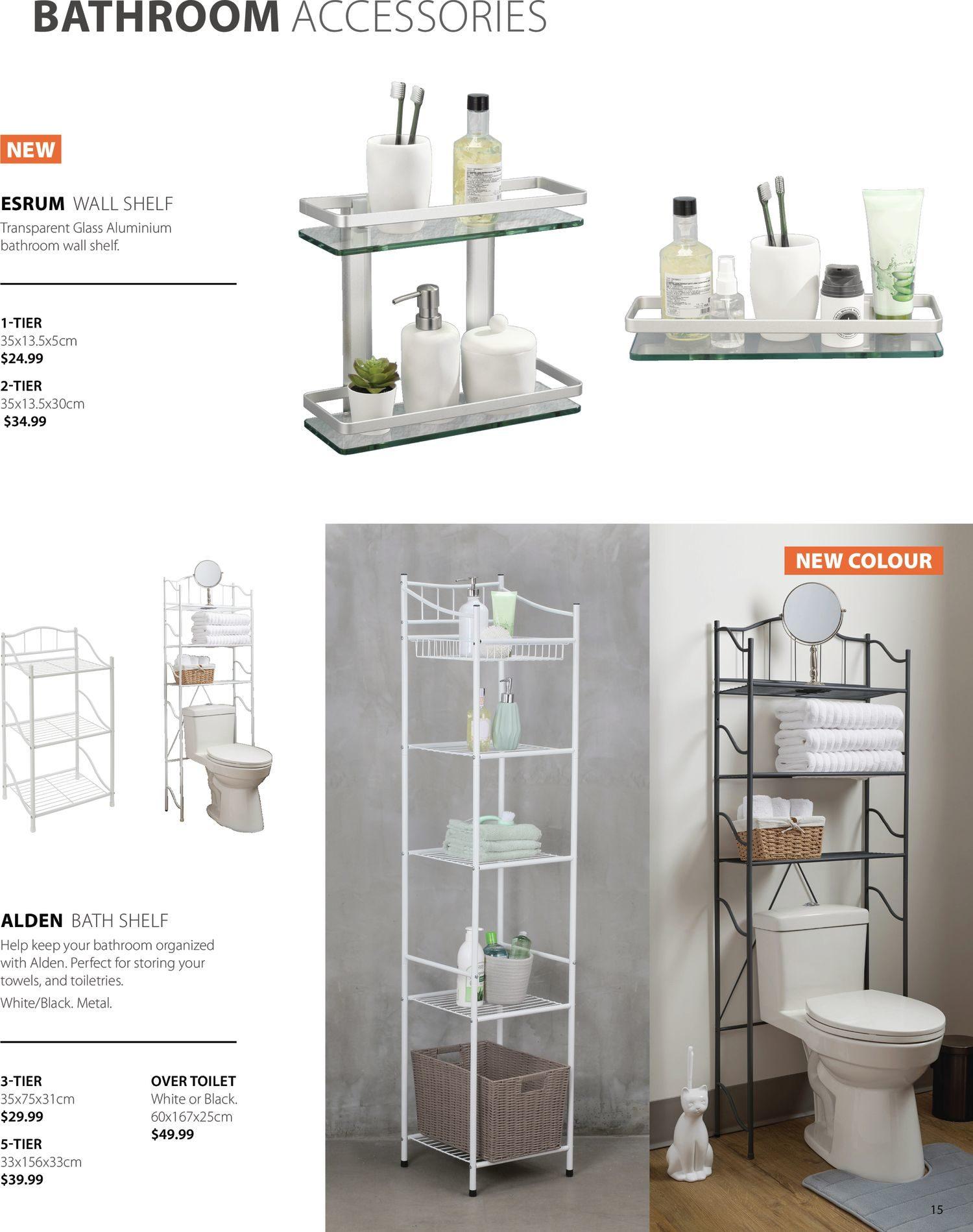 Jysk - Bathroom Accessories Catalogue 2021 - Page 15