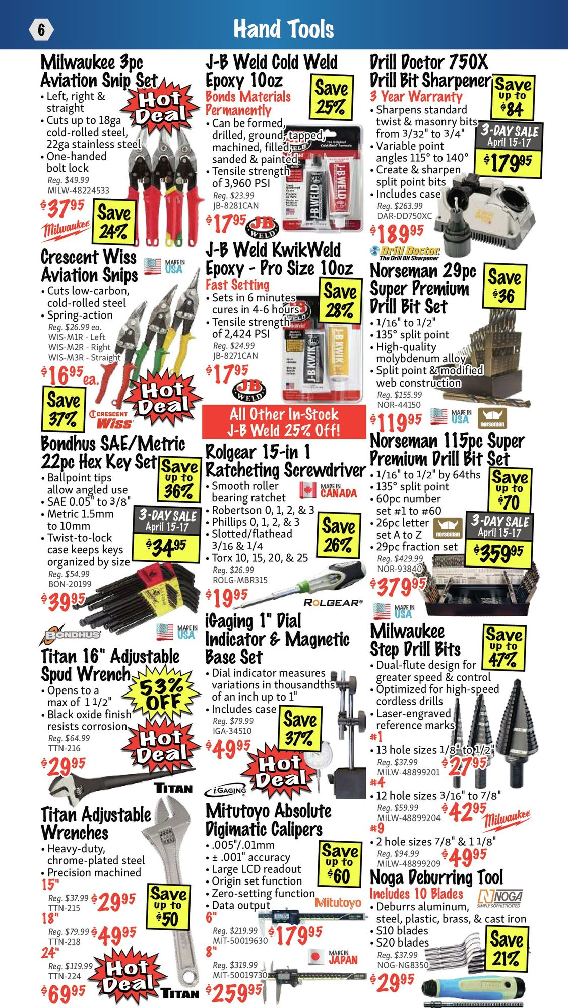 KMS Tools - Hand Tools, Air Tools & Compressor Sale - Page 6