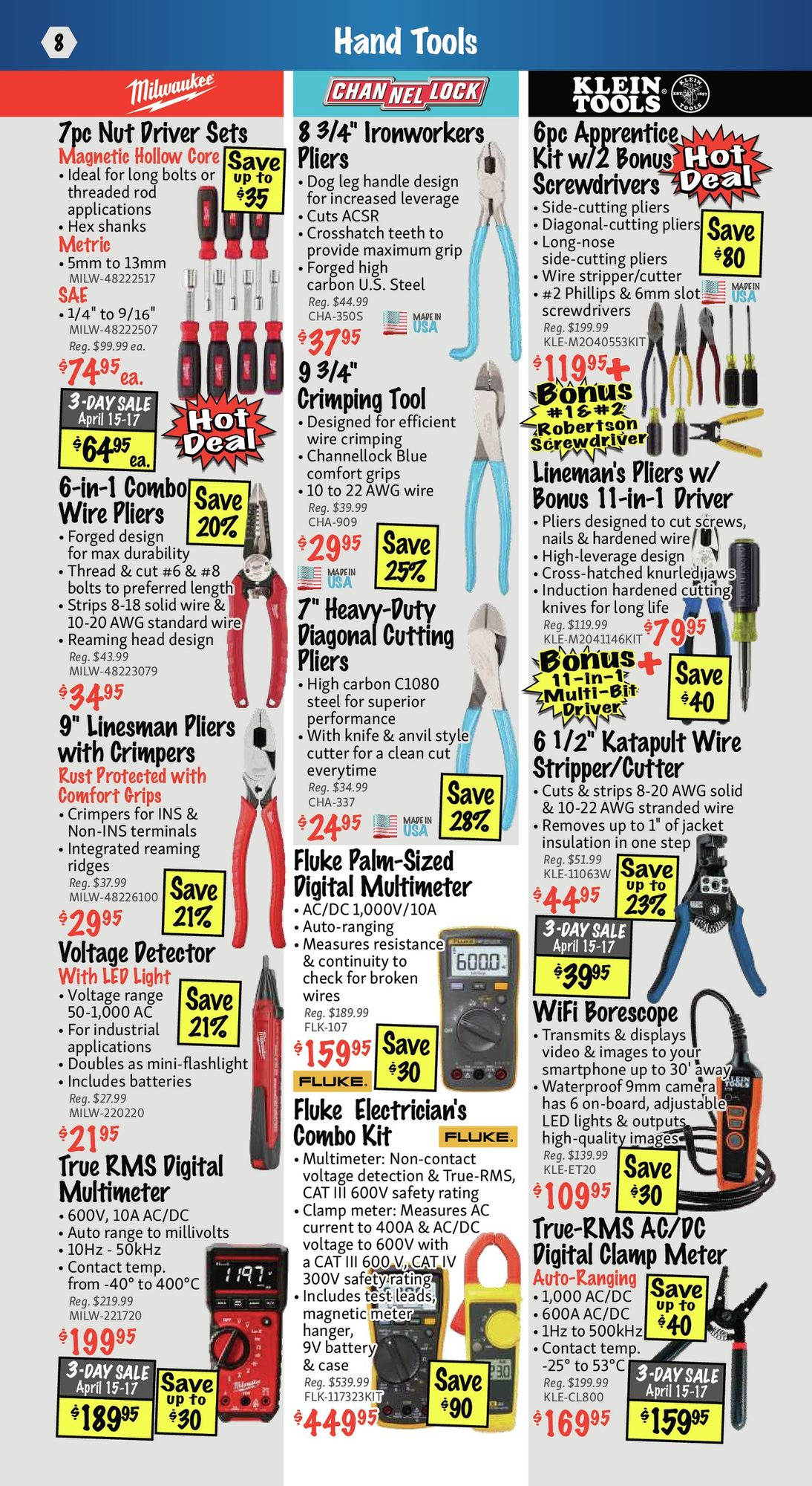 KMS Tools - Hand Tools, Air Tools & Compressor Sale - Page 8