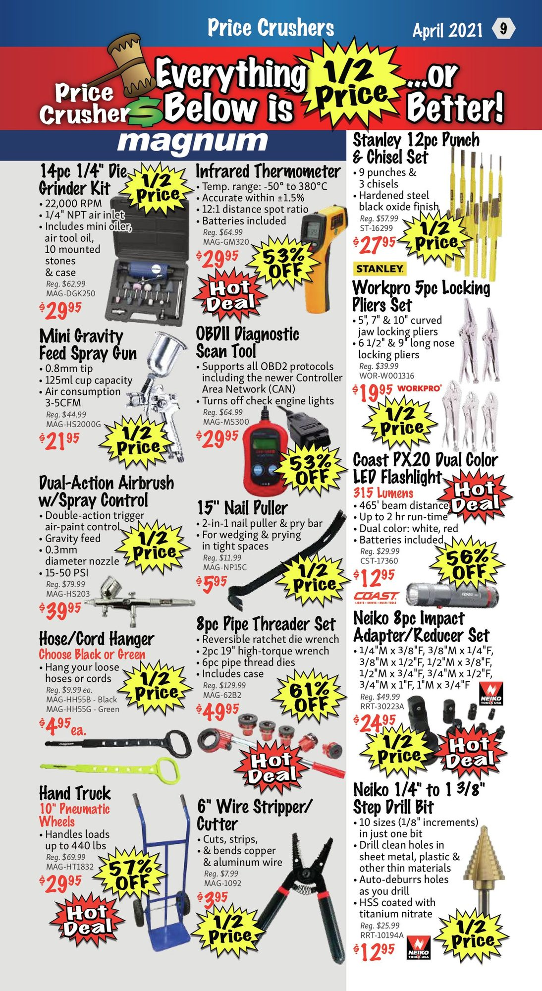 KMS Tools - Hand Tools, Air Tools & Compressor Sale - Page 9