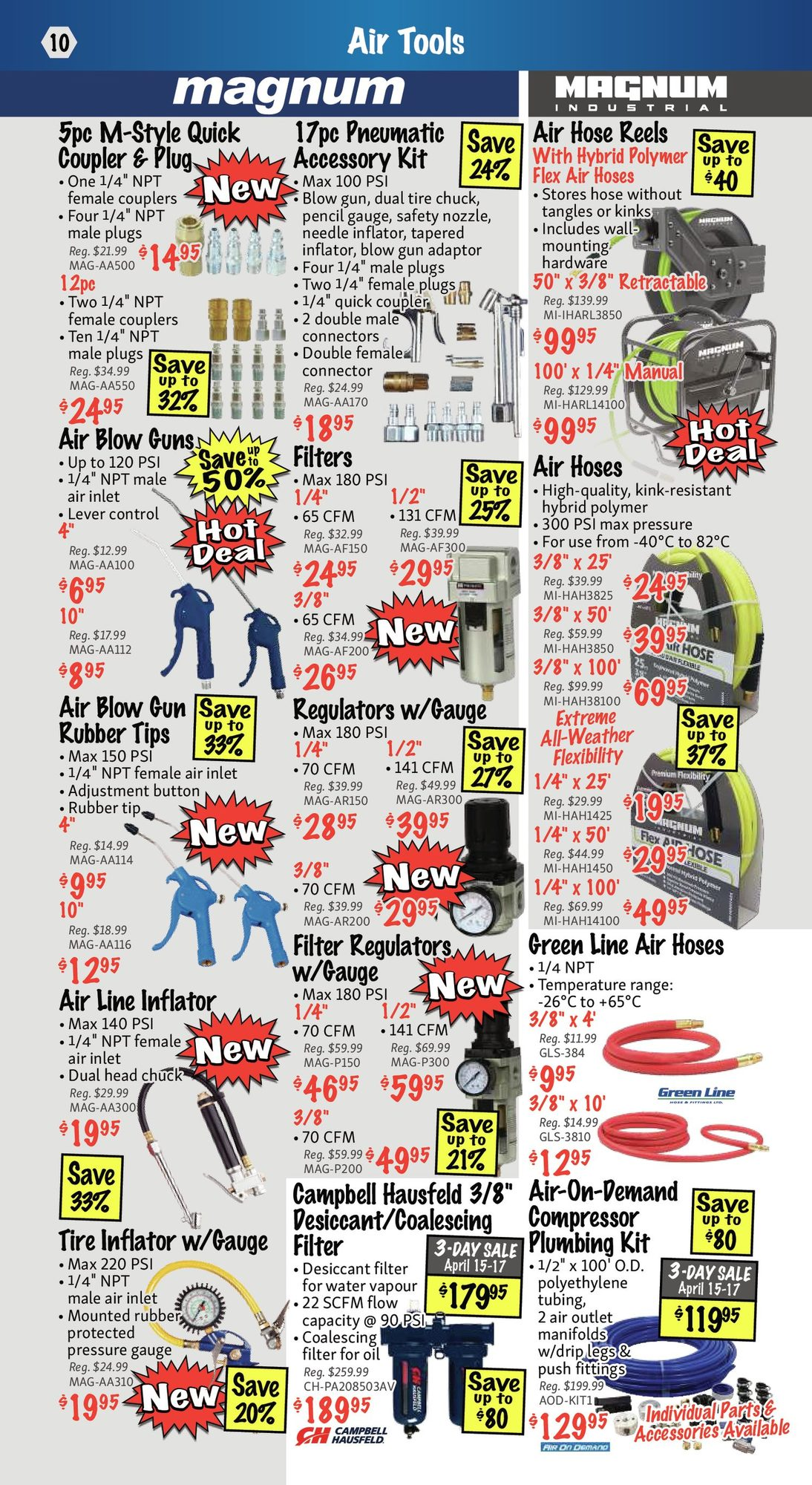 KMS Tools - Hand Tools, Air Tools & Compressor Sale - Page 10