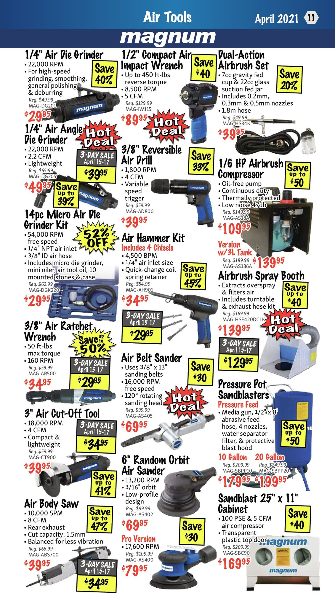 KMS Tools - Hand Tools, Air Tools & Compressor Sale - Page 11