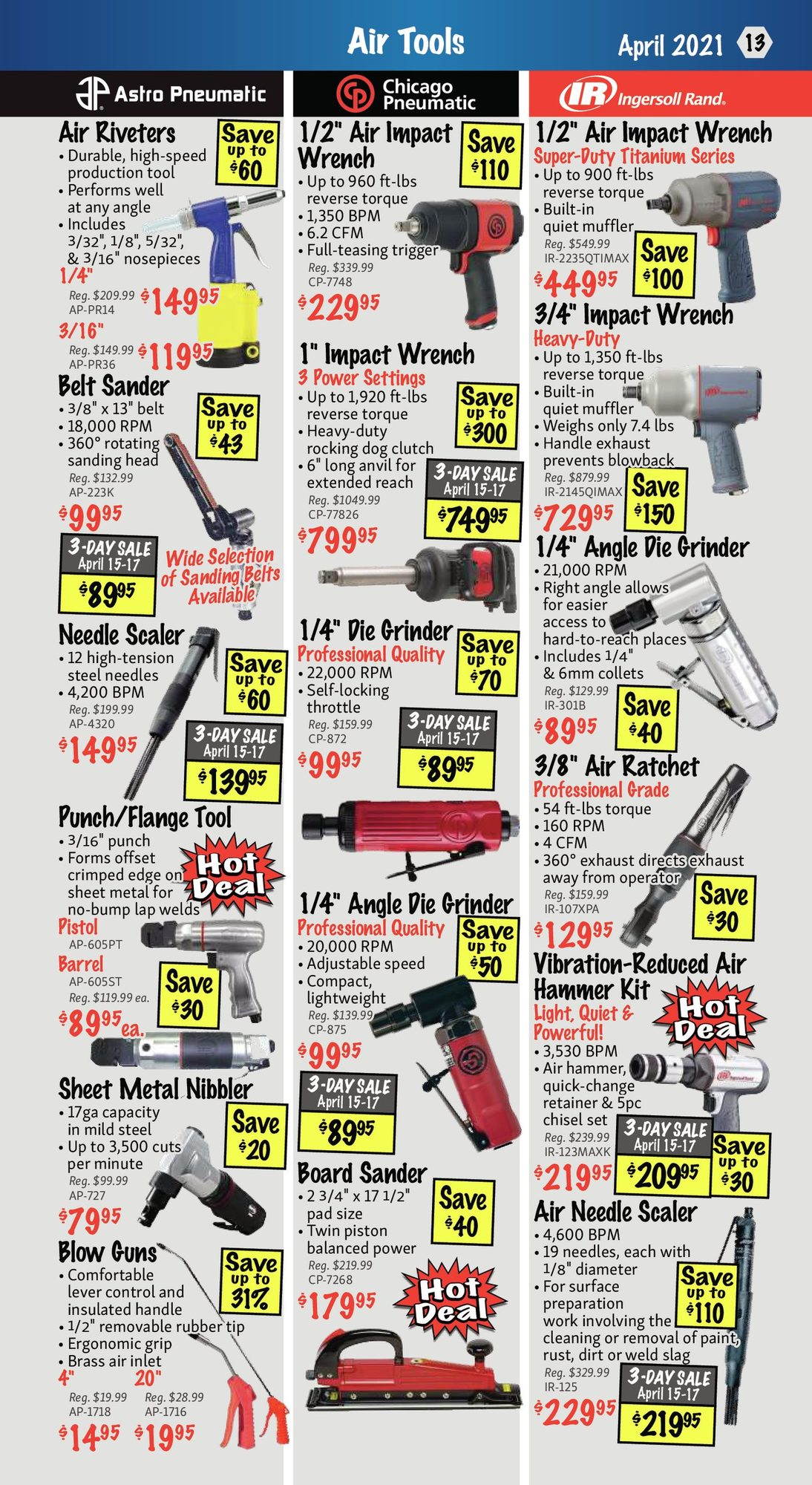 KMS Tools - Hand Tools, Air Tools & Compressor Sale - Page 13