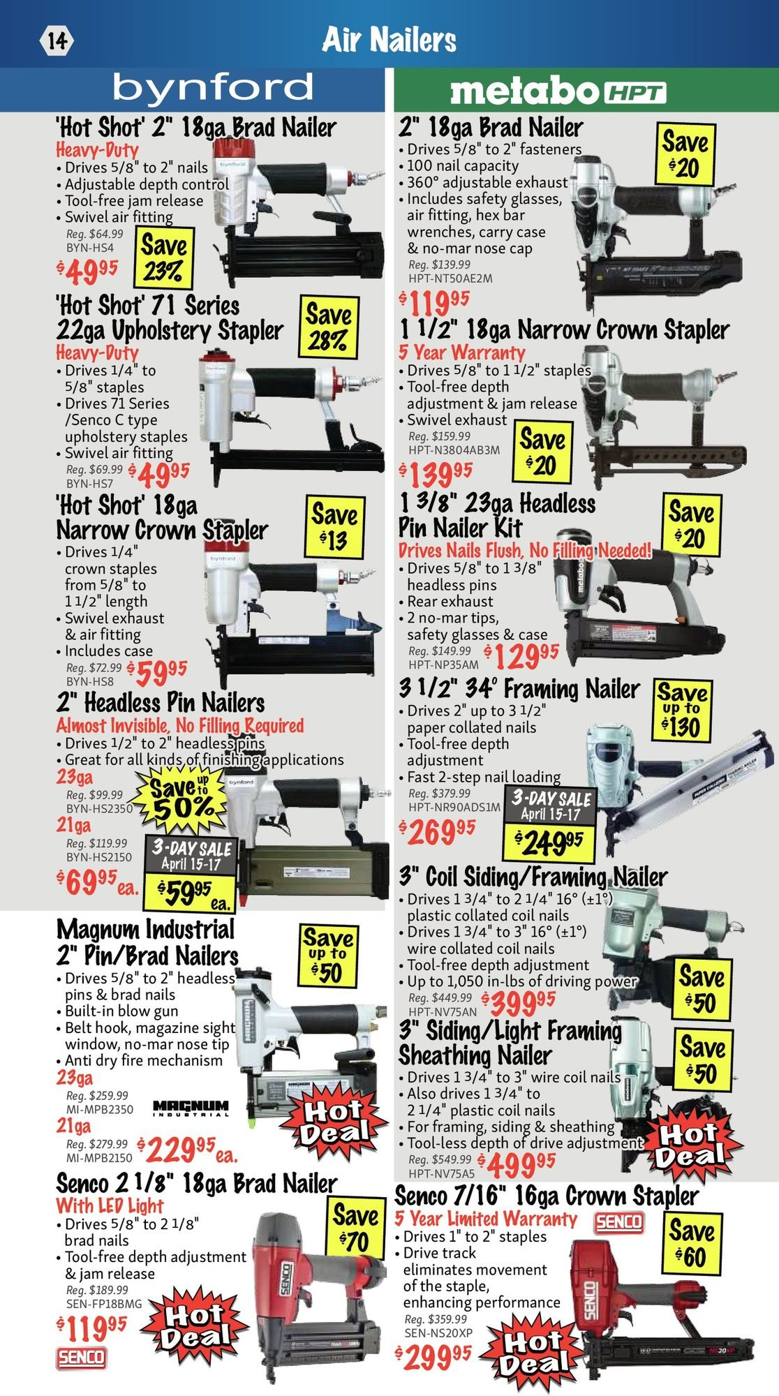 KMS Tools - Hand Tools, Air Tools & Compressor Sale - Page 14