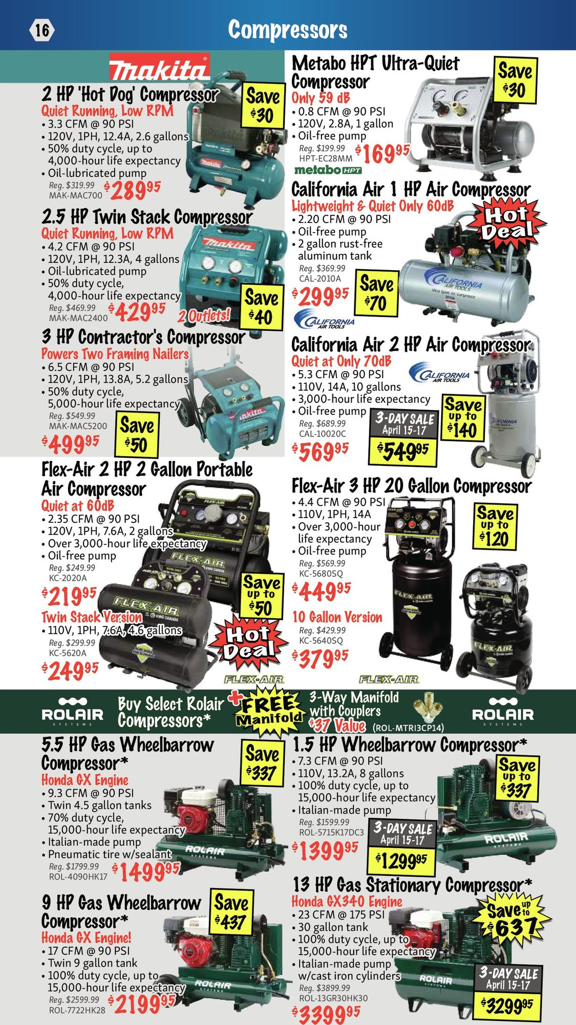 KMS Tools - Hand Tools, Air Tools & Compressor Sale - Page 16