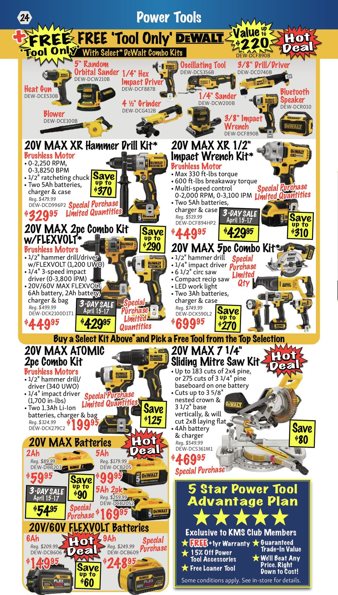 KMS Tools - Hand Tools, Air Tools & Compressor Sale - Page 24