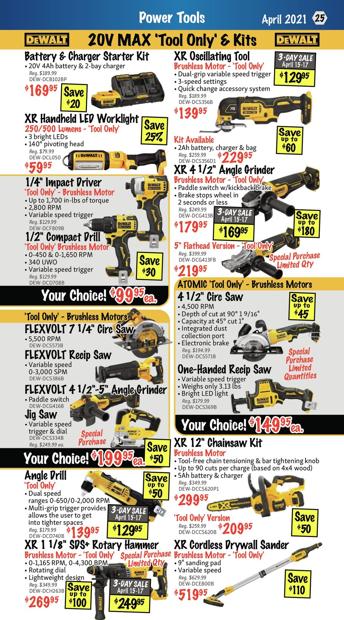 KMS Tools - Hand Tools, Air Tools & Compressor Sale - Page 25