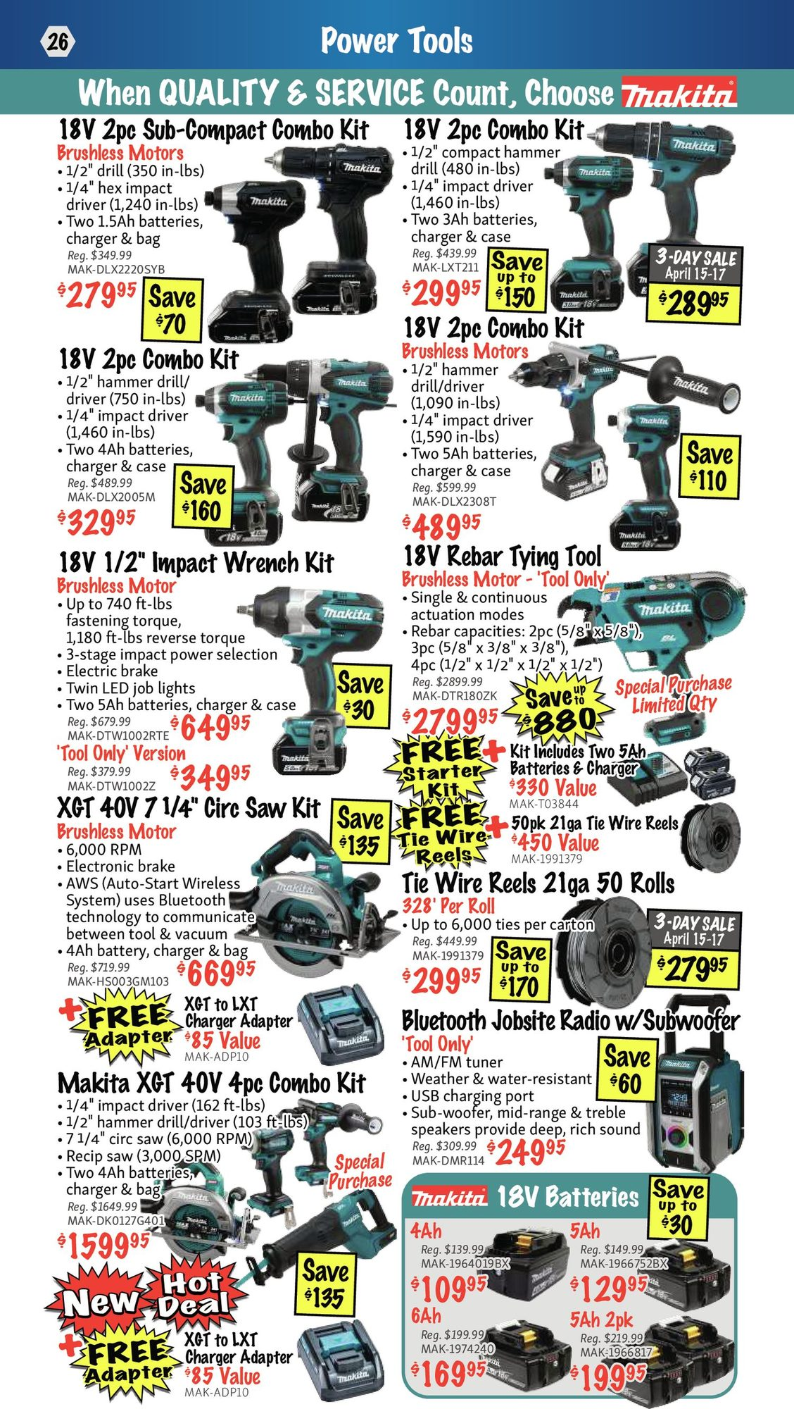 KMS Tools - Hand Tools, Air Tools & Compressor Sale - Page 26