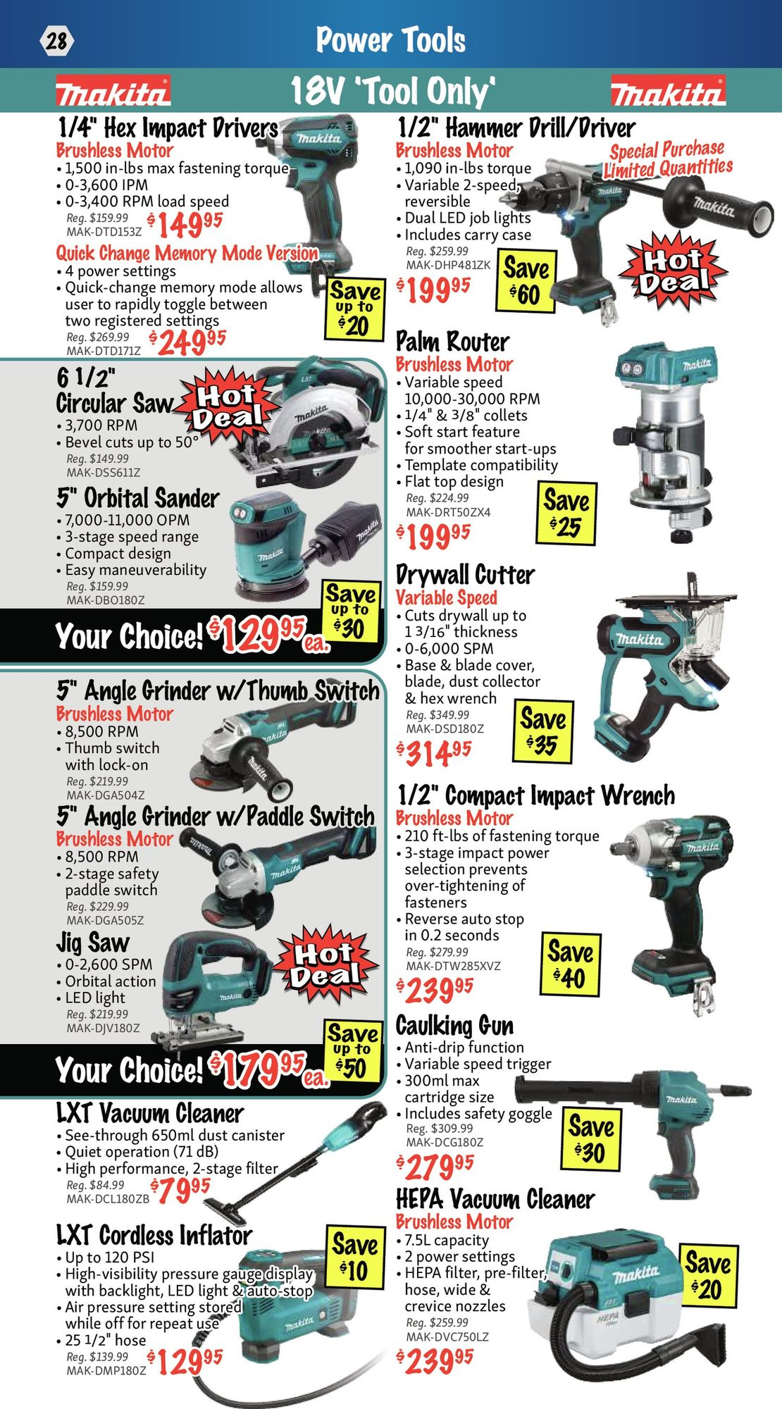 KMS Tools - Hand Tools, Air Tools & Compressor Sale - Page 28