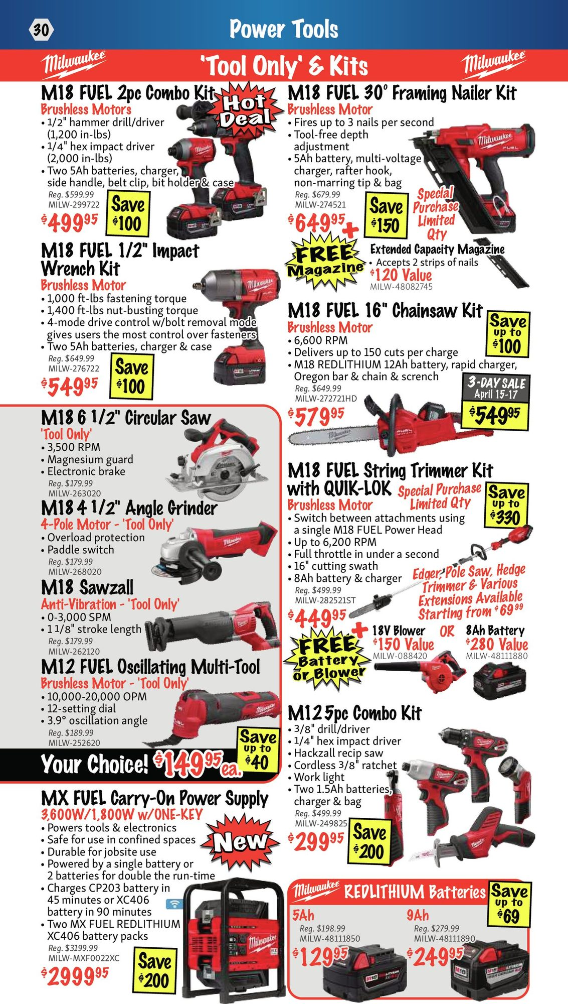 KMS Tools - Hand Tools, Air Tools & Compressor Sale - Page 30