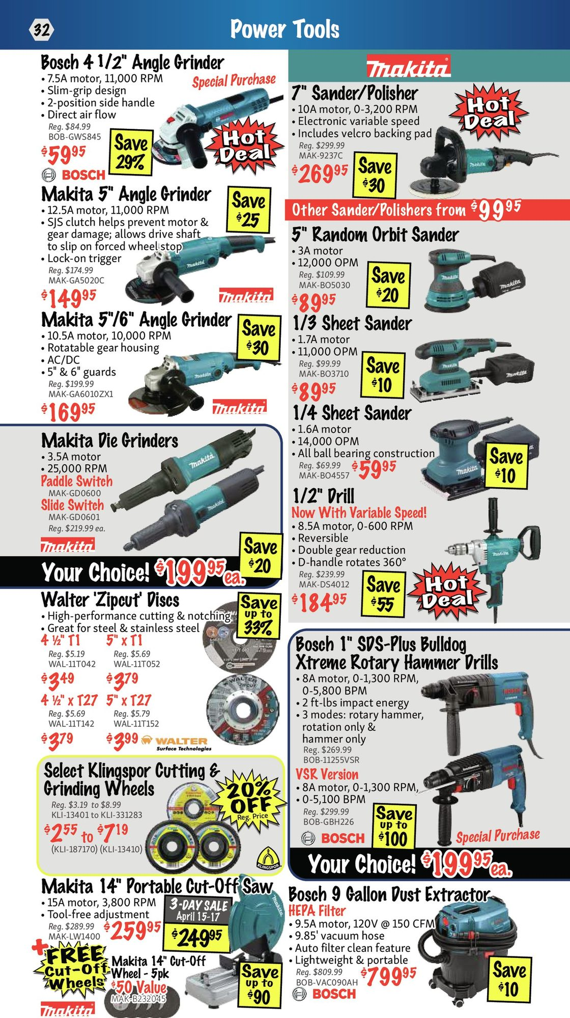 KMS Tools - Hand Tools, Air Tools & Compressor Sale - Page 32