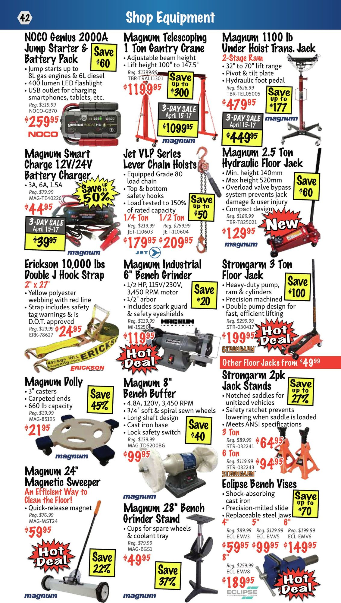 KMS Tools - Hand Tools, Air Tools & Compressor Sale - Page 42