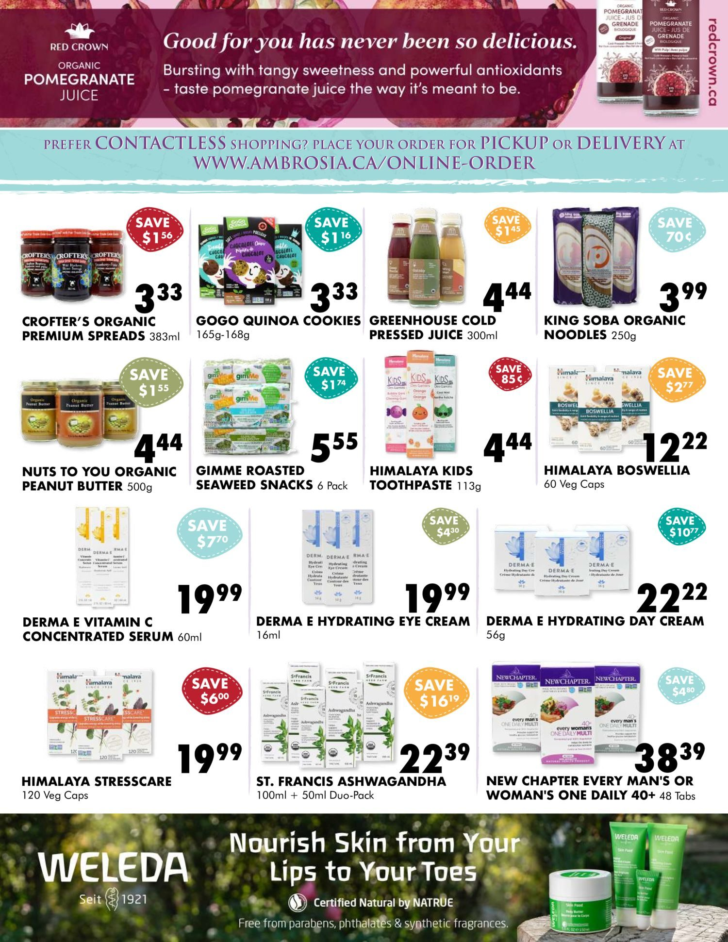 Ambrosia Natural Foods - Monthly Specials - Page 3