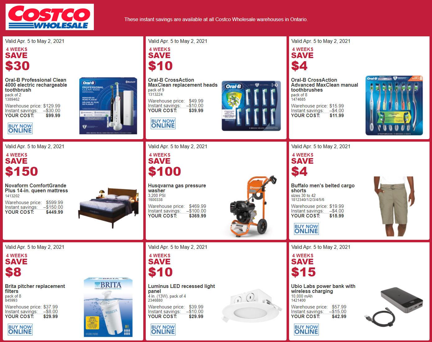 Costco - Monthly Savings