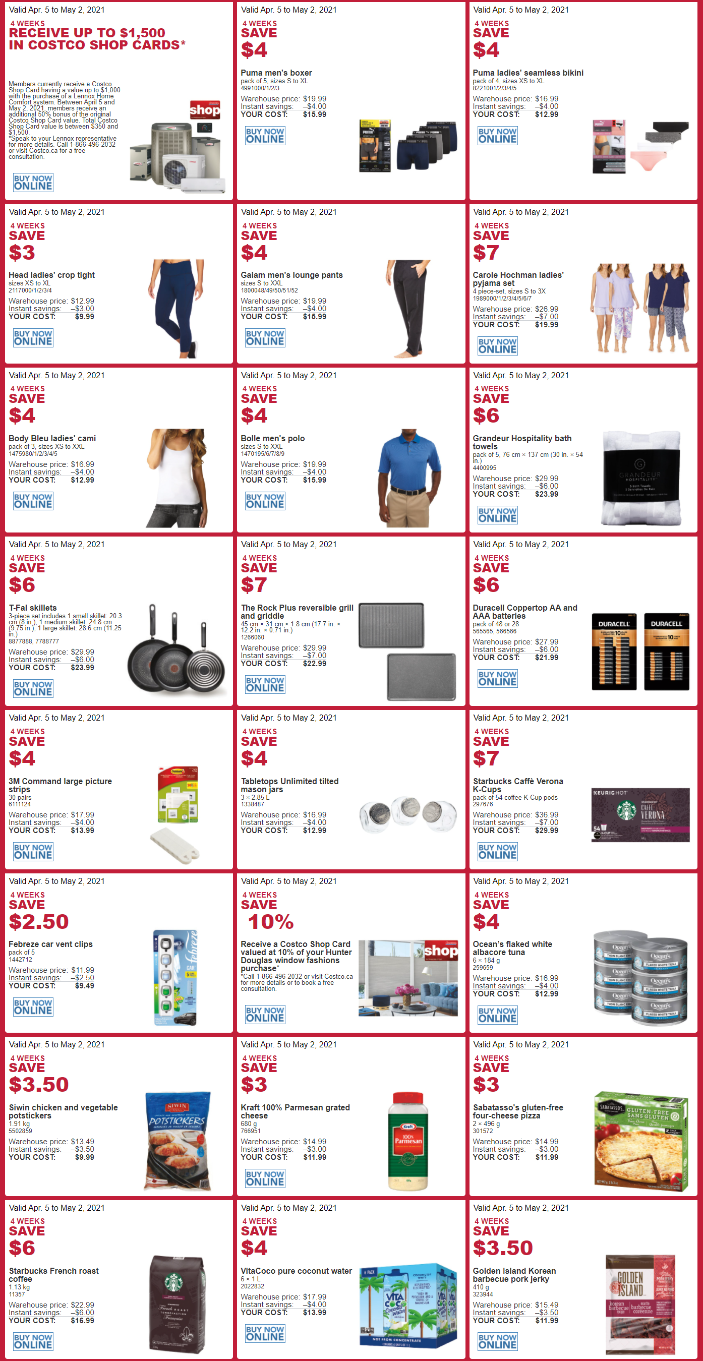 Costco - Monthly Savings - Page 2