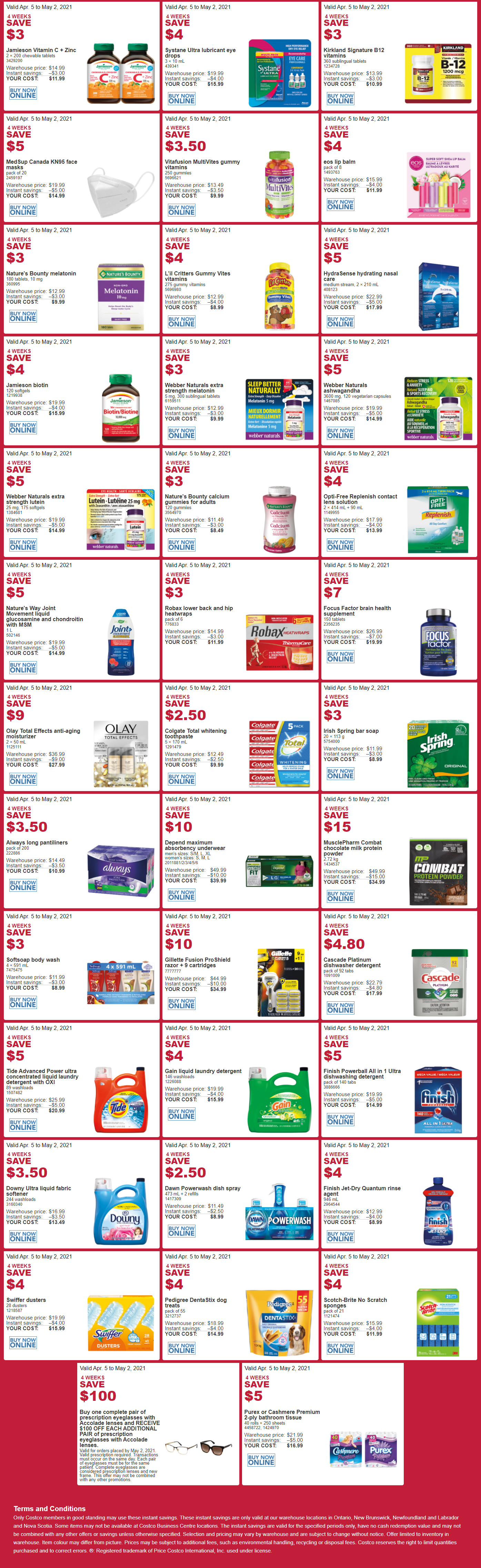 Costco - Monthly Savings - Page 4