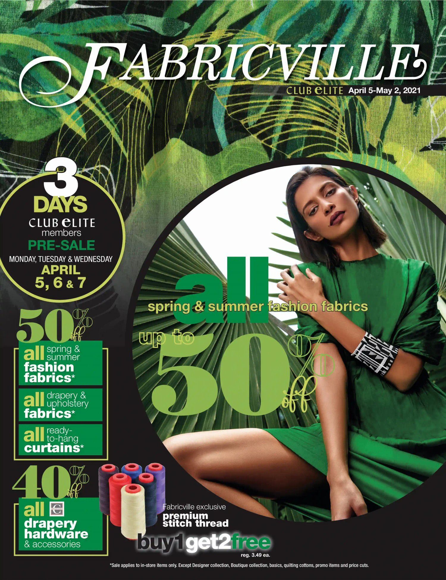 Fabricville - Club Elite Members Only